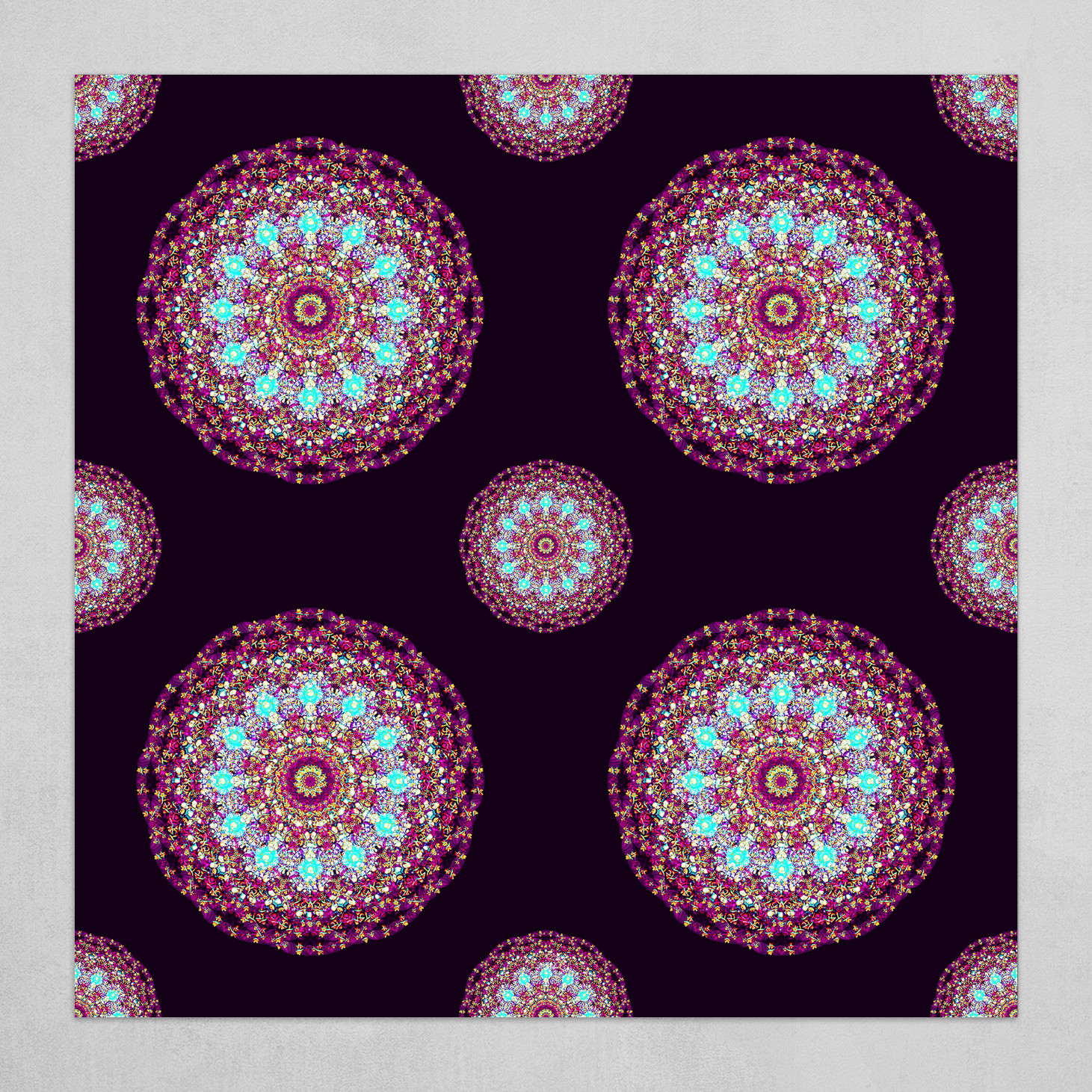 Mandala 2.0 Pattern (square)
