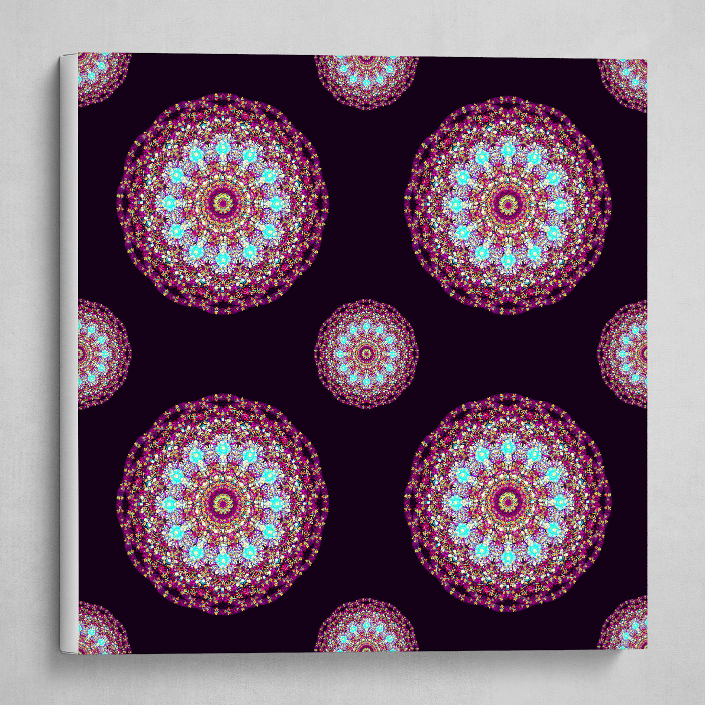 Mandala 2.0 Pattern (square)