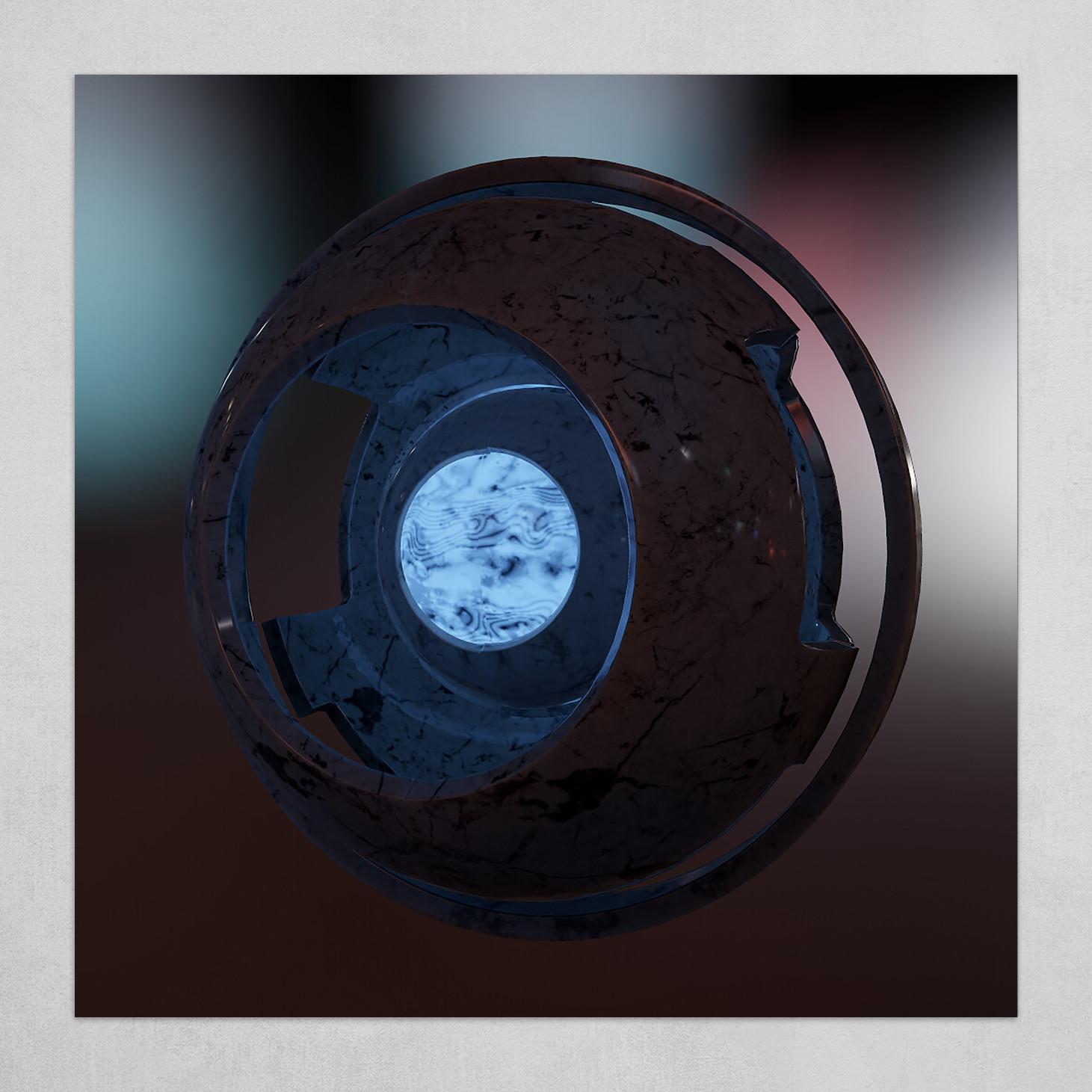 Cosmic Marble Eye III
