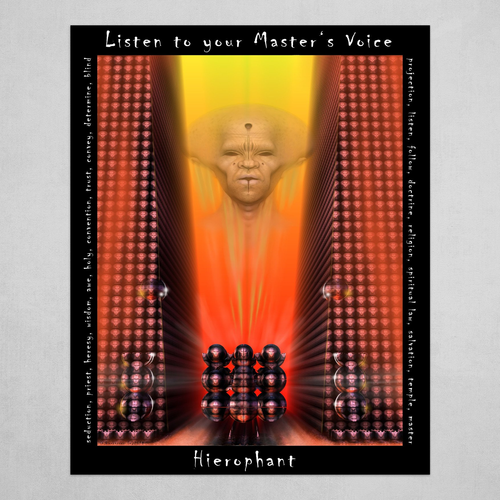 LISTEN TO YOUR MASTER'S VOICE  - Hierophant