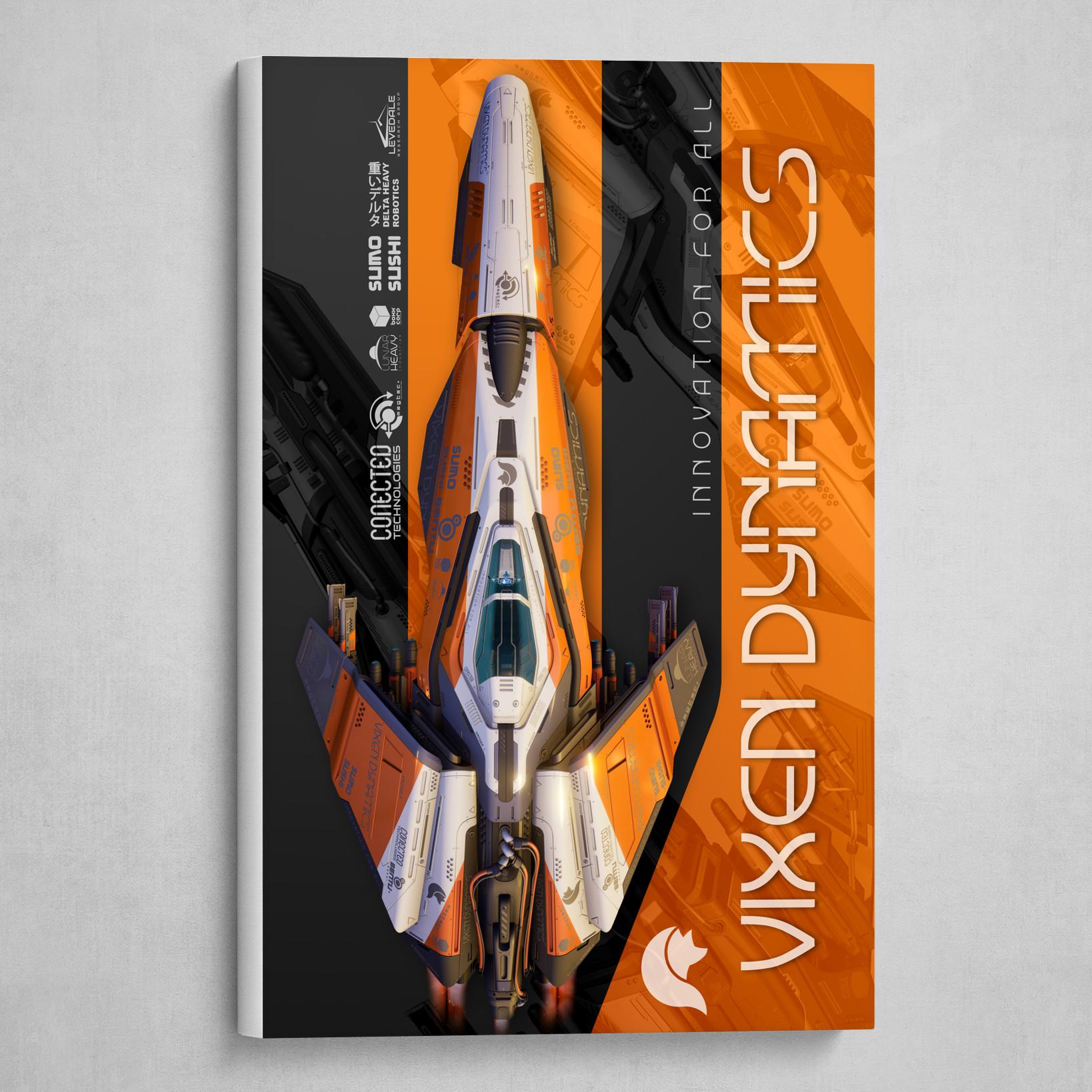 Vixen Dynamics Graphic Poster 01