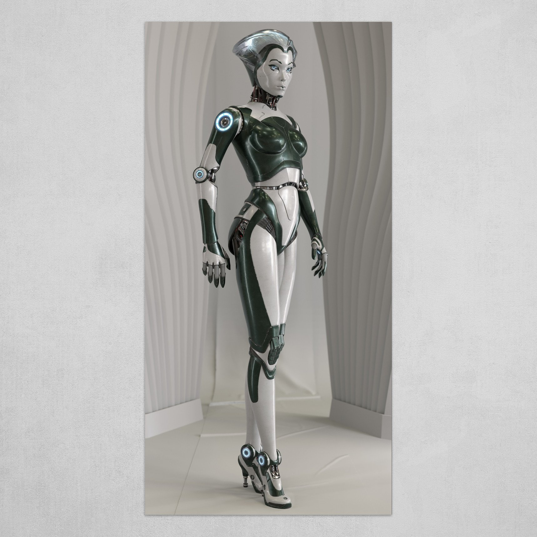 Robotskin Female Android