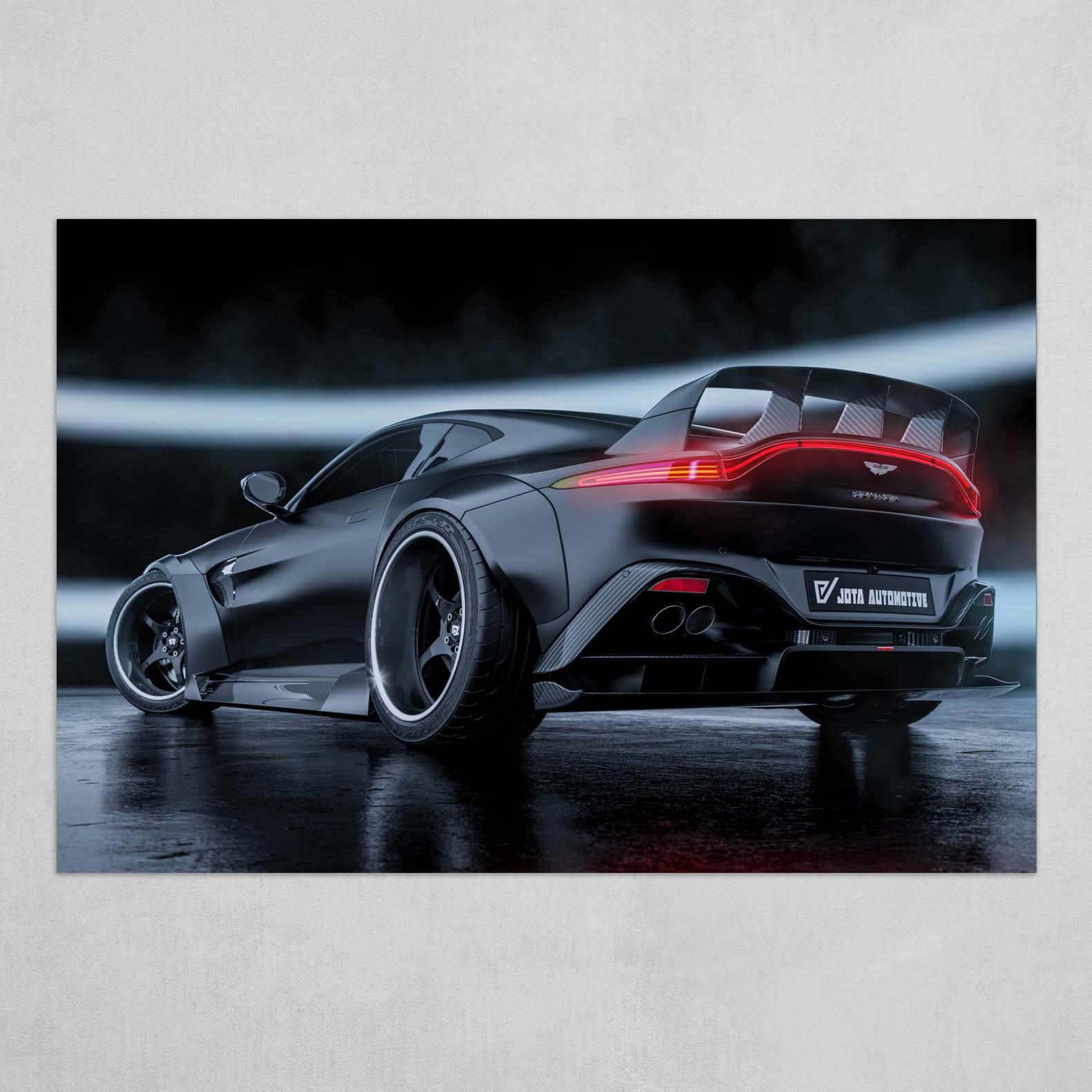 Aston Martin Vantage Black Widow
