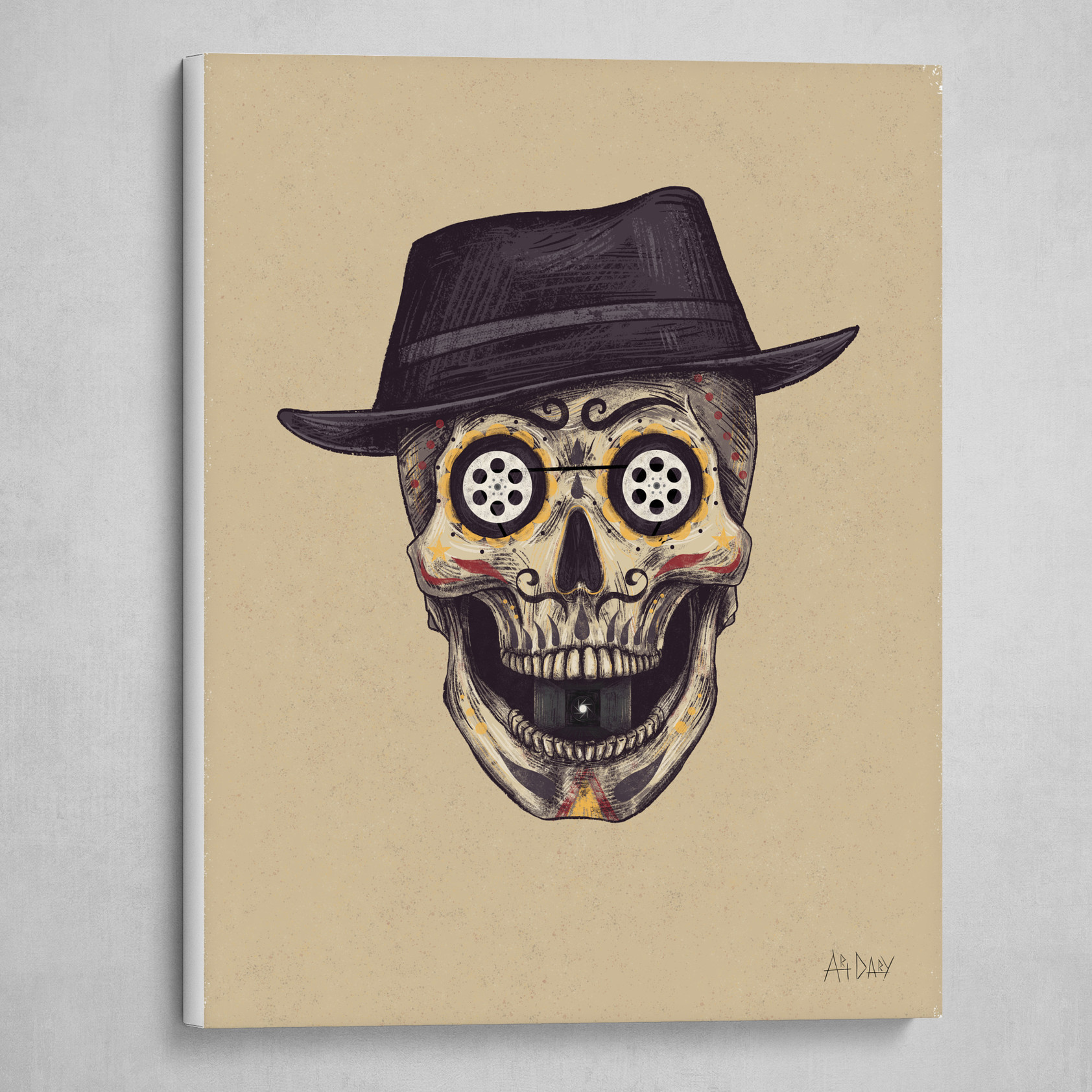 Cinema Skull
