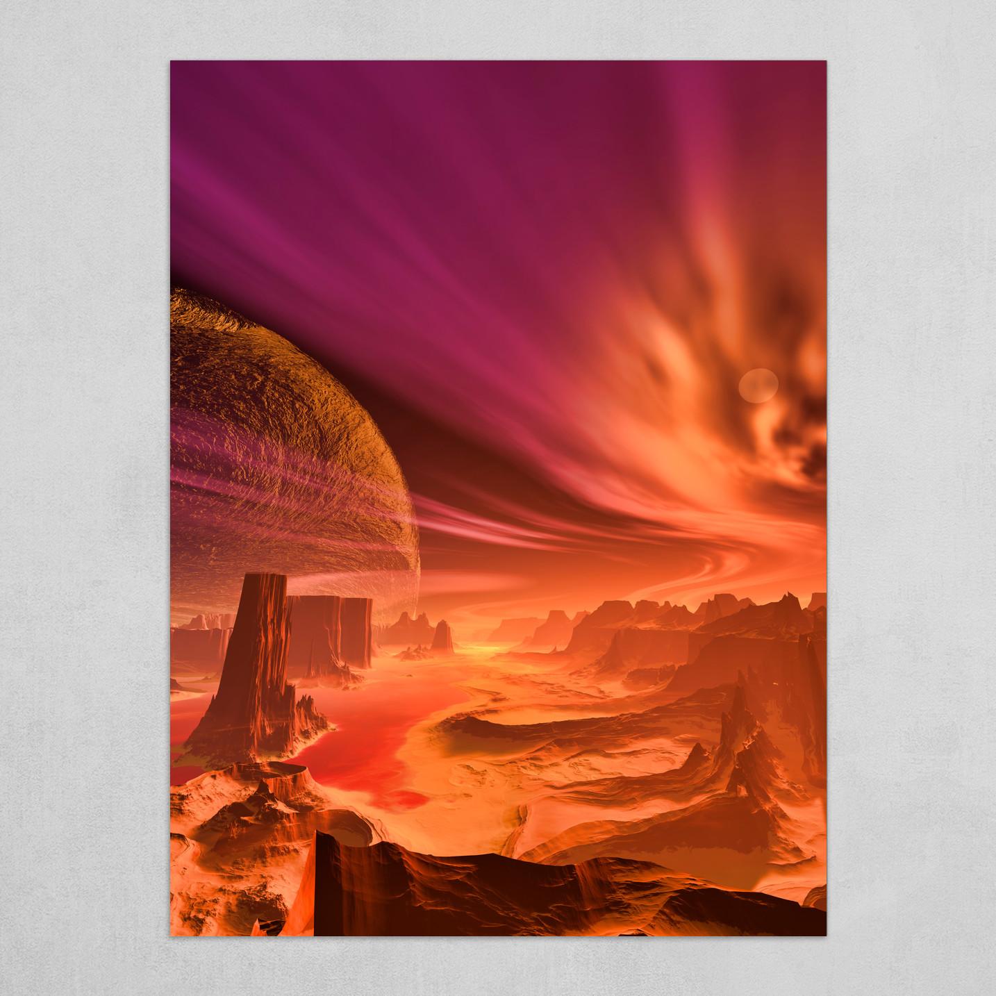 New Mars Rift Valley