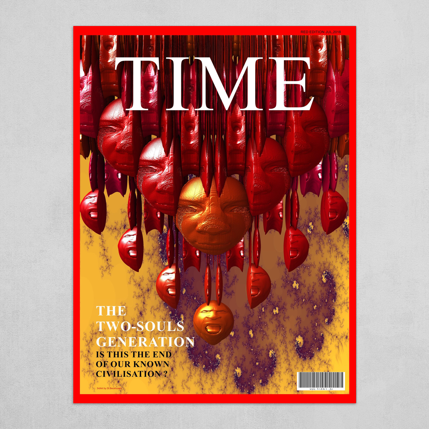 Time - The Two-Souls Generation (Red Edition)