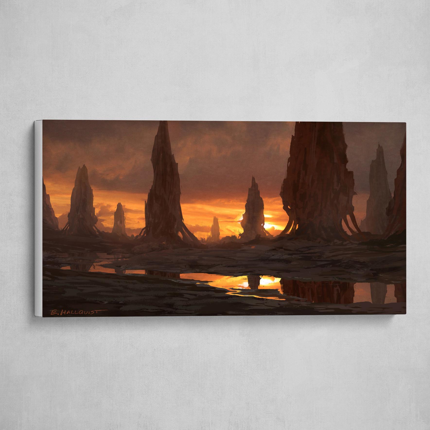 Pillar Sunset