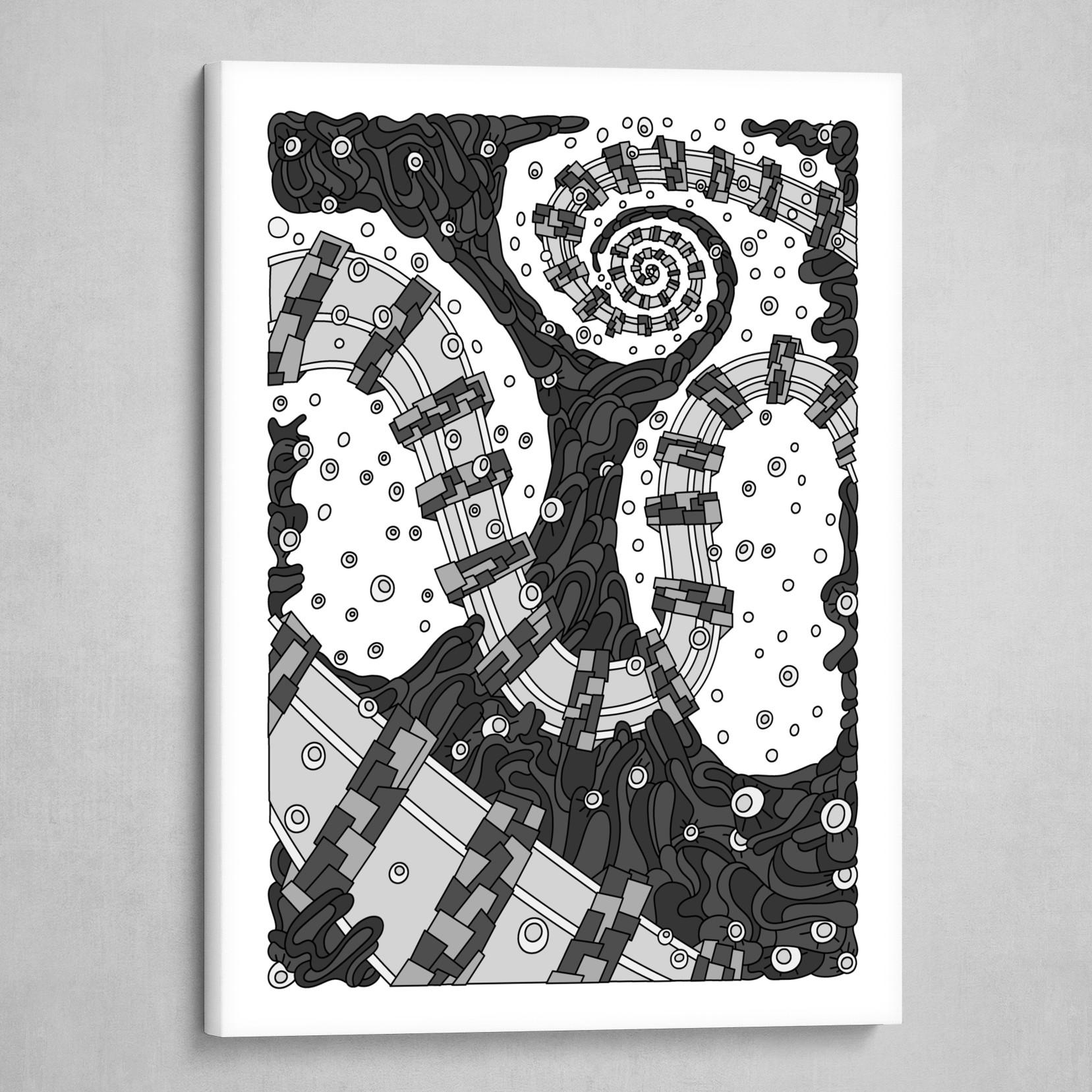 Wandering 02: grayscale