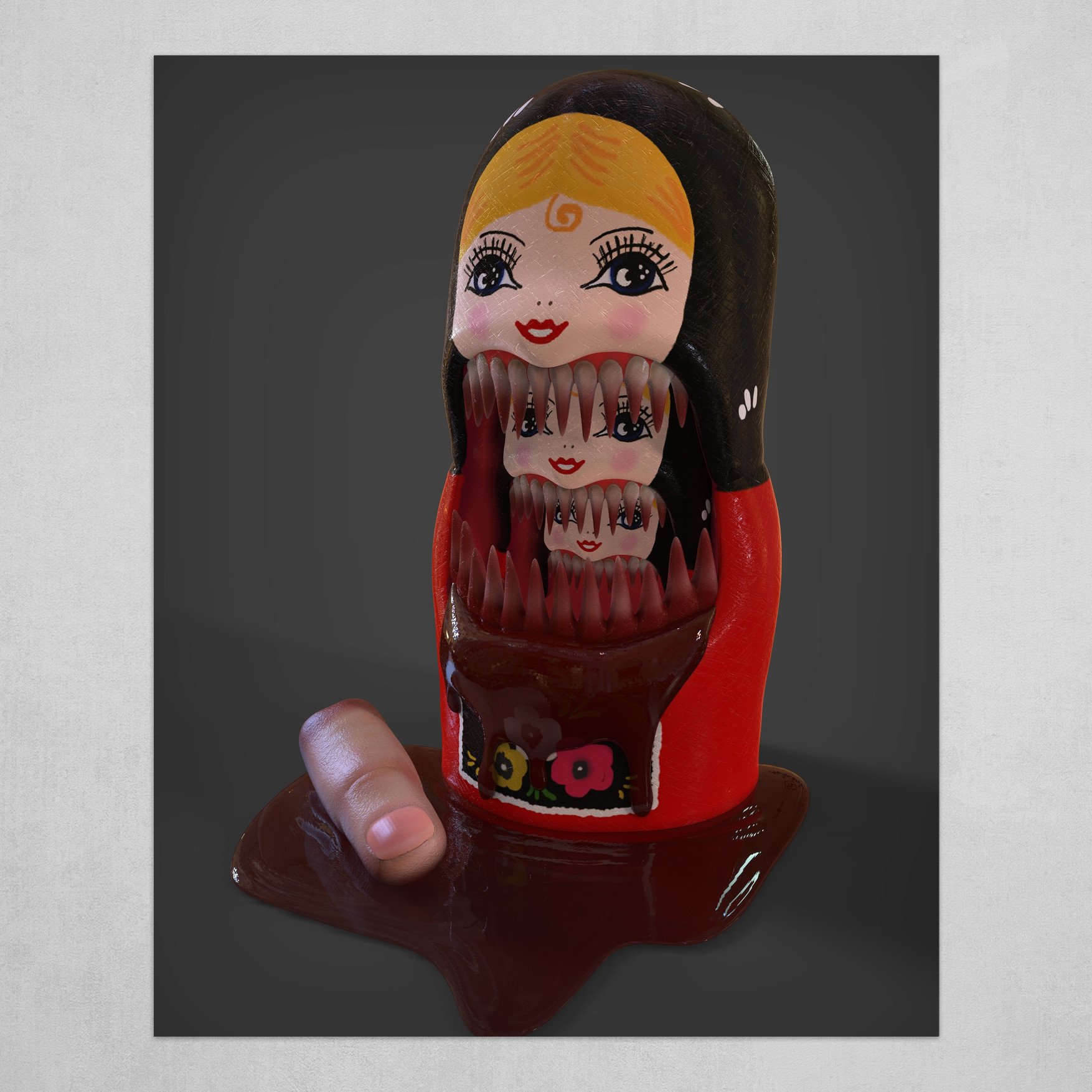 Hungry Nesting Doll