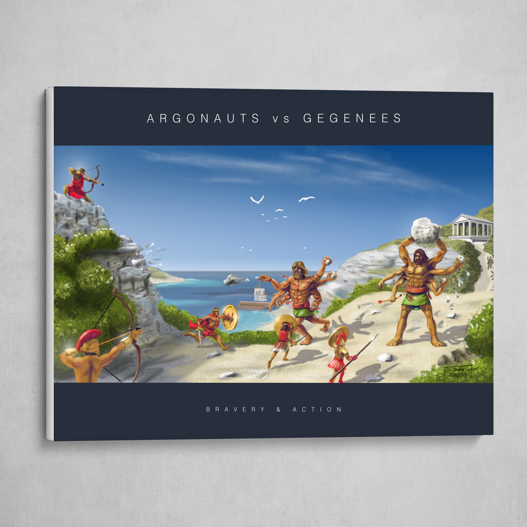 Argonauts vs Gegenees - Poster
