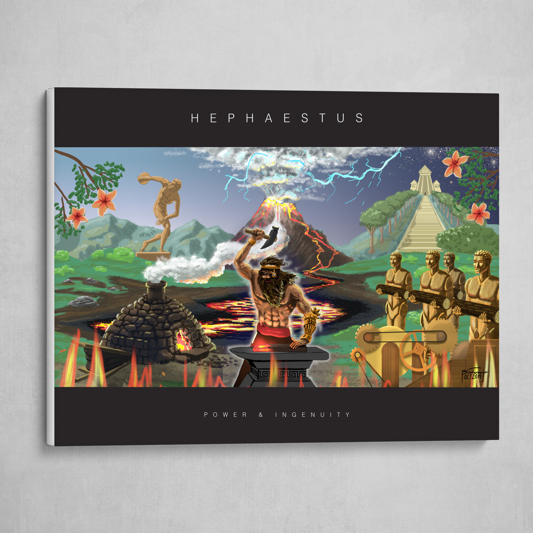 Hephaestus - Poster