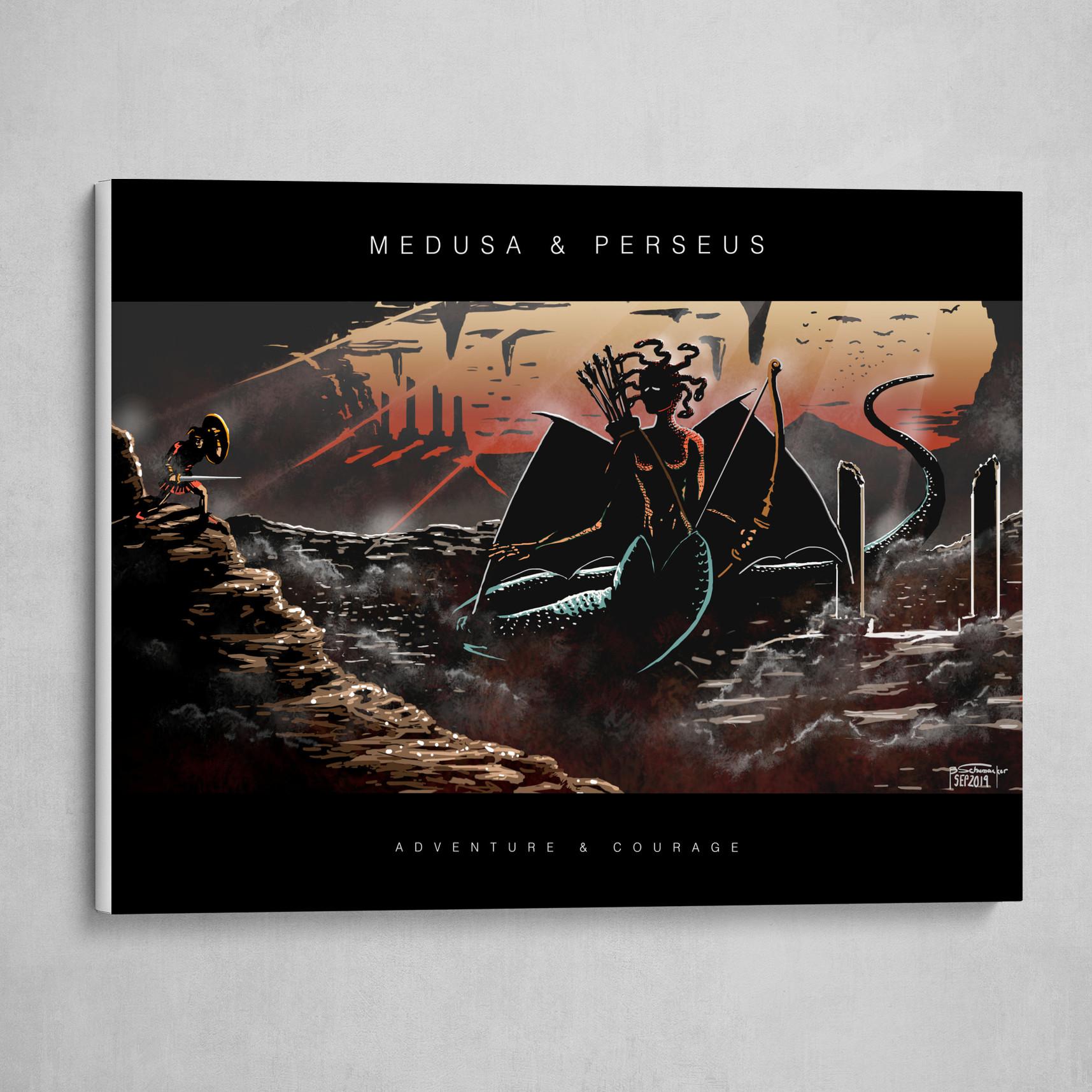 Medusa & Perseus - Poster