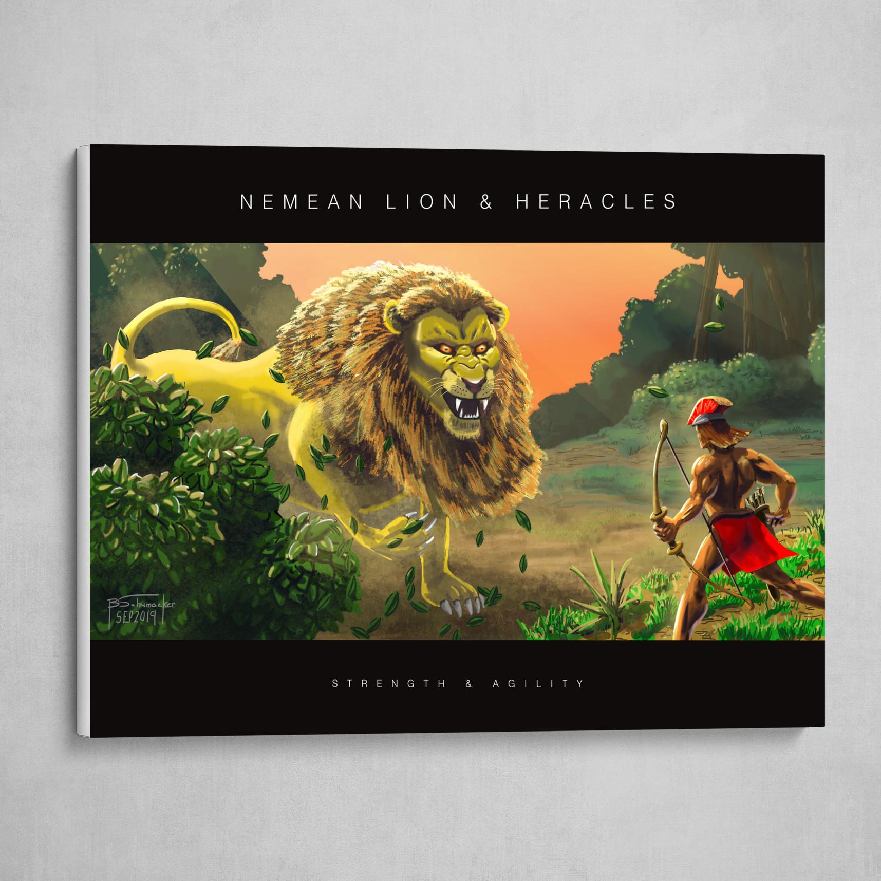 Nemean Lion & Heracles