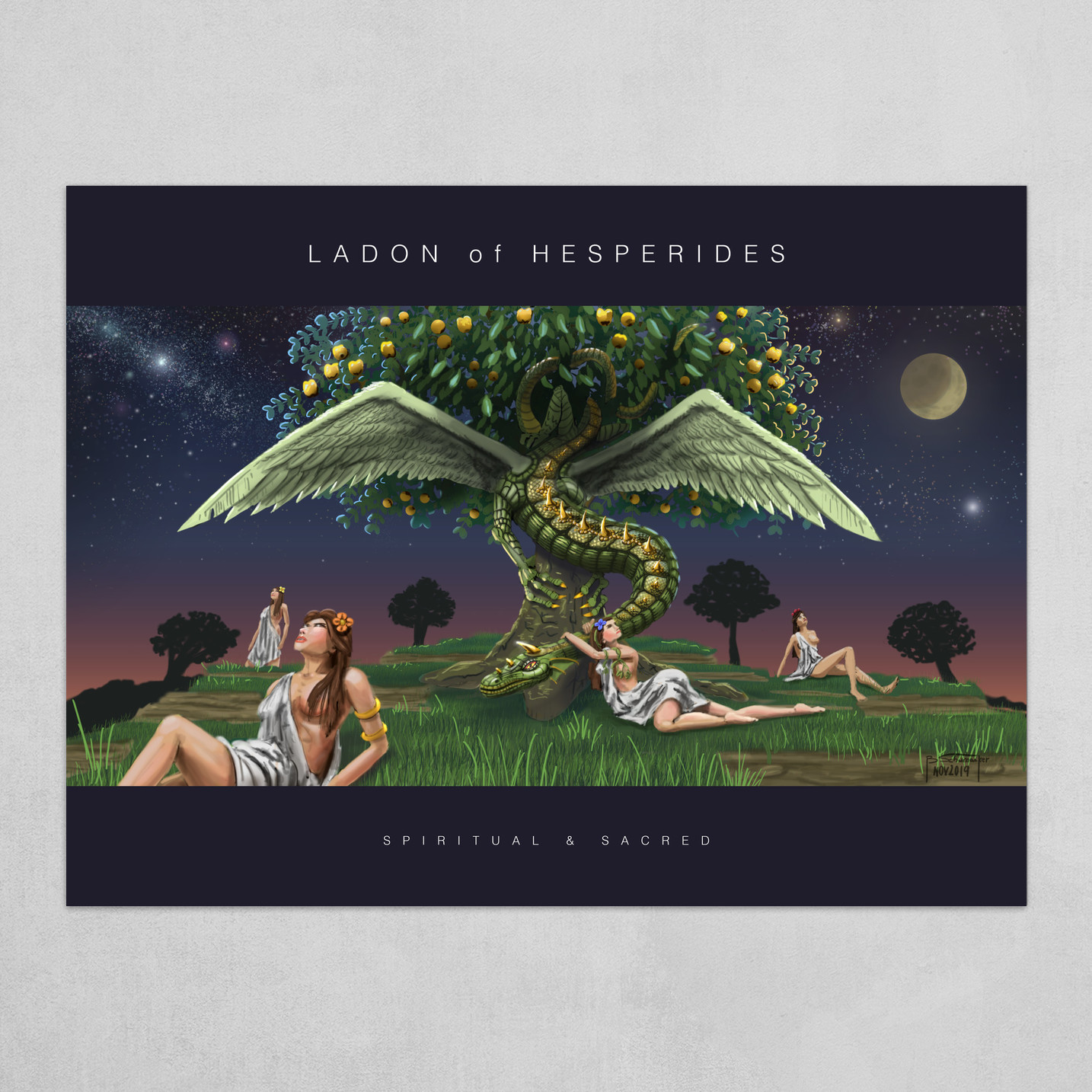 Ladon of Hesperides - Poster