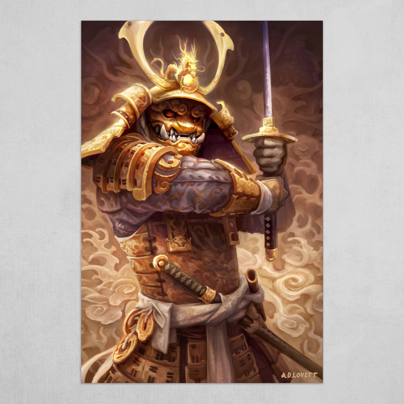 Golden Samurai
