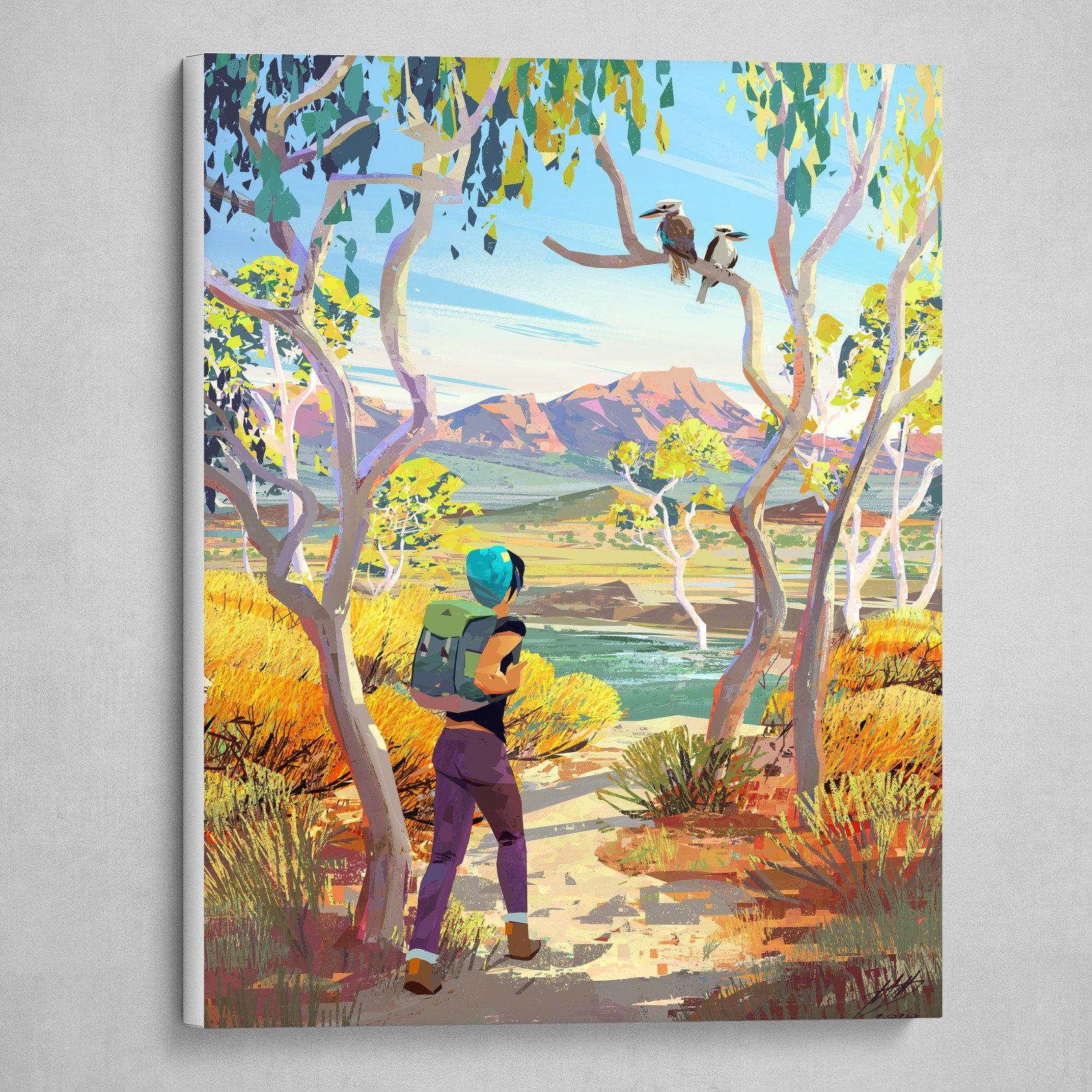 Bushwalk (Australian Bushfire Relief Fundraiser Print)