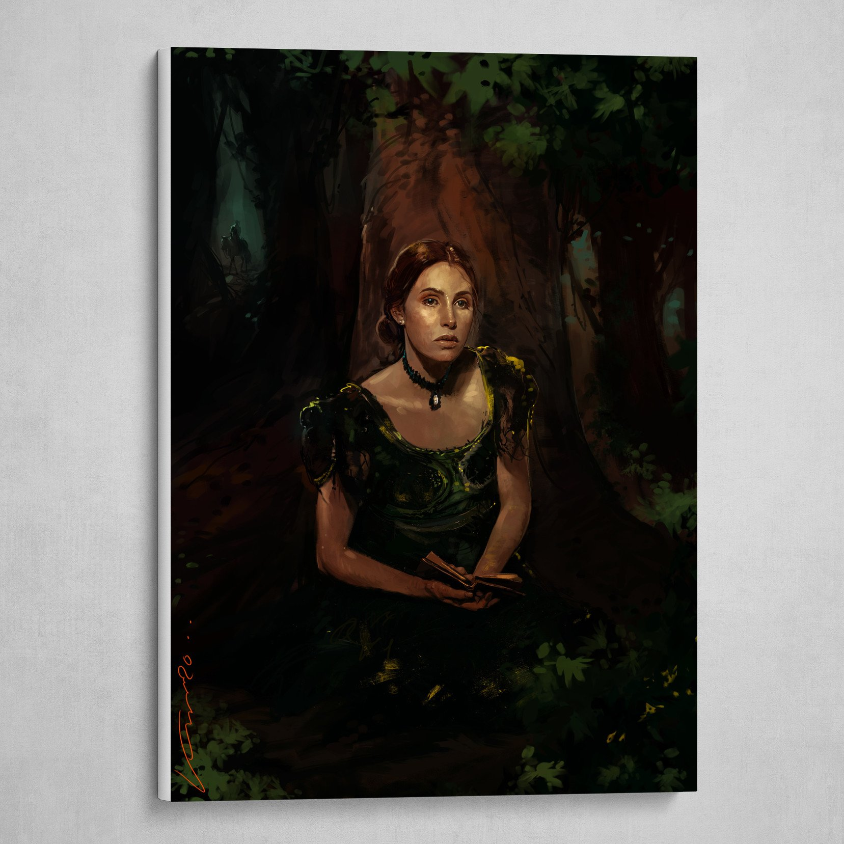 lady into the forest