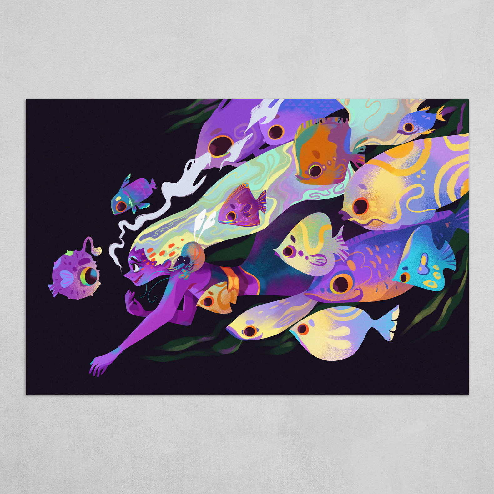 Lilac Fish