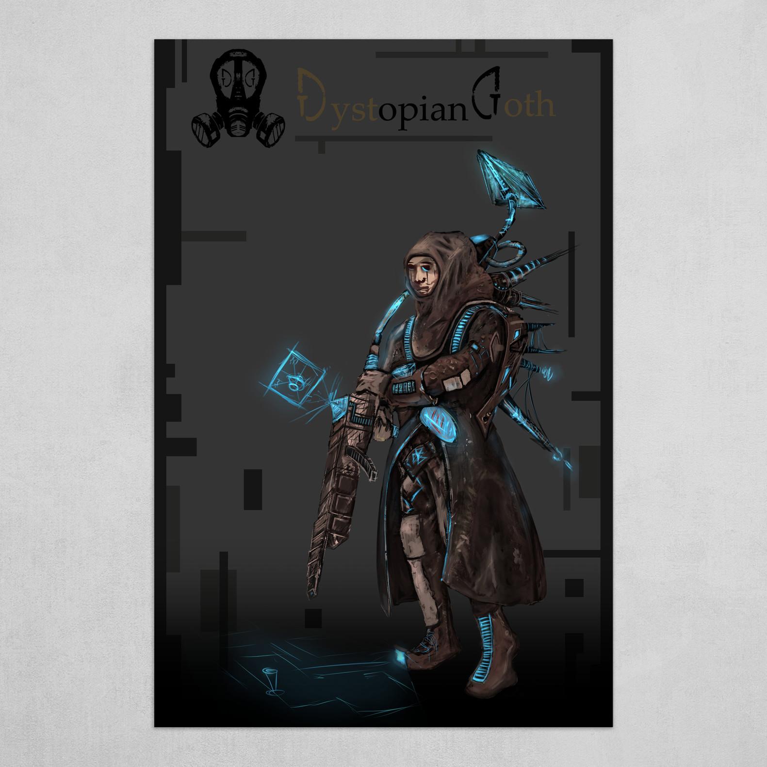 Dystopian Goth   Character_02 - Corrupt