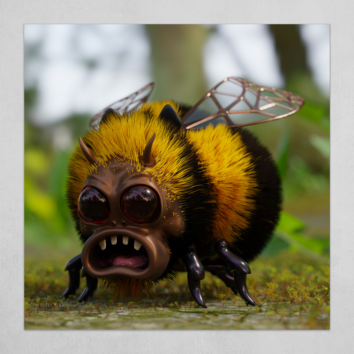 Angry Mutant Bumble Bee