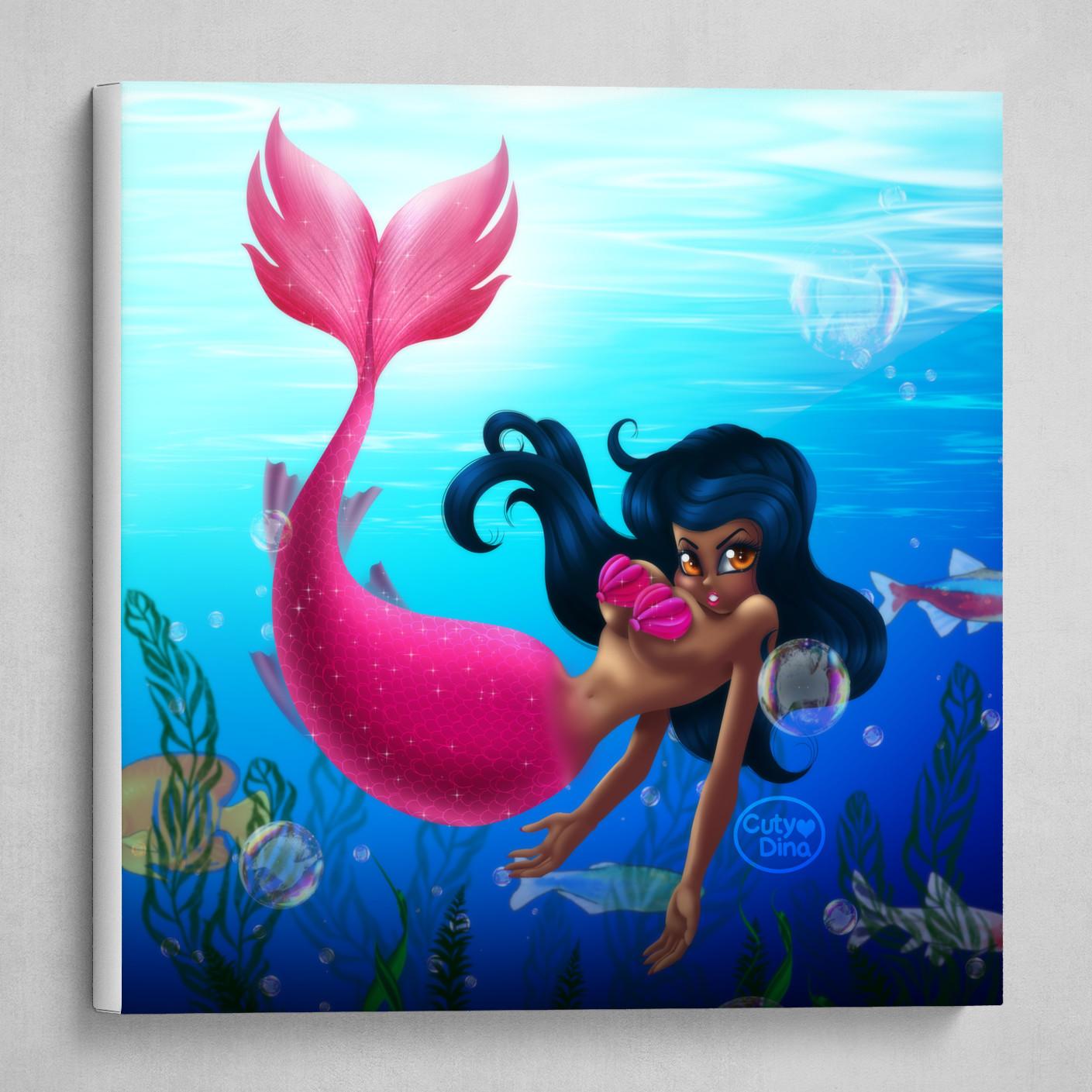Pinky Mermaid