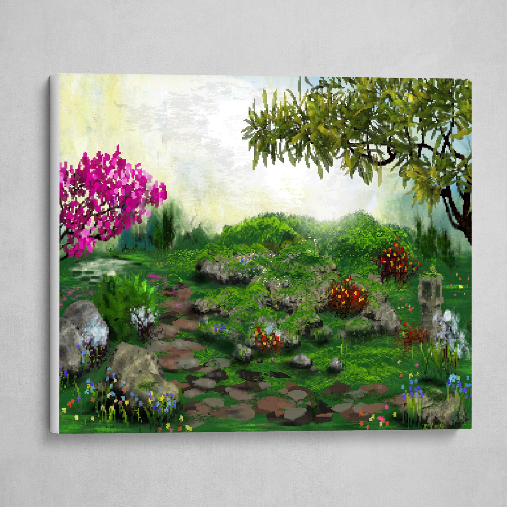 Zen Garden Pixels