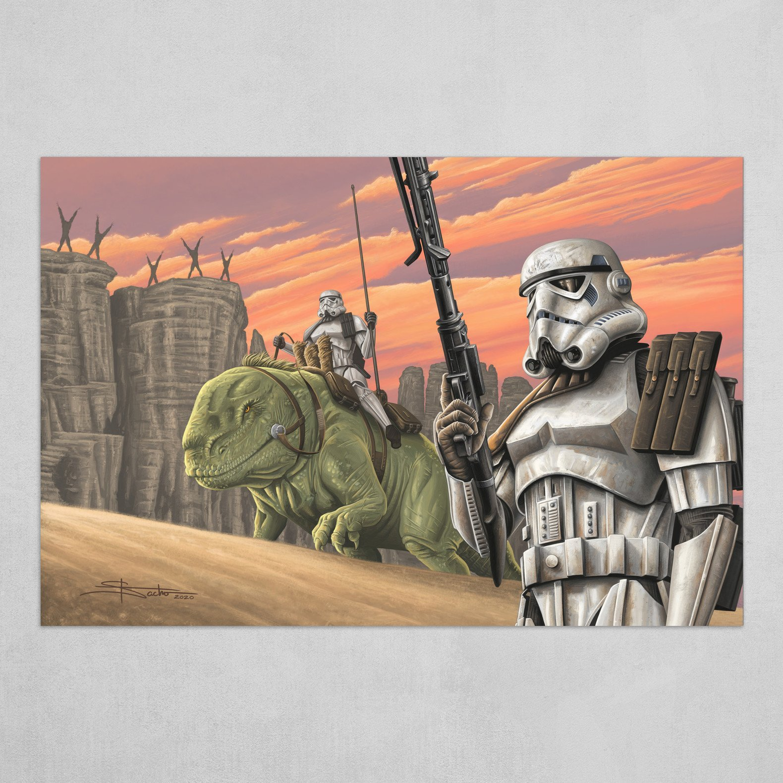The Badlands of Tatooine