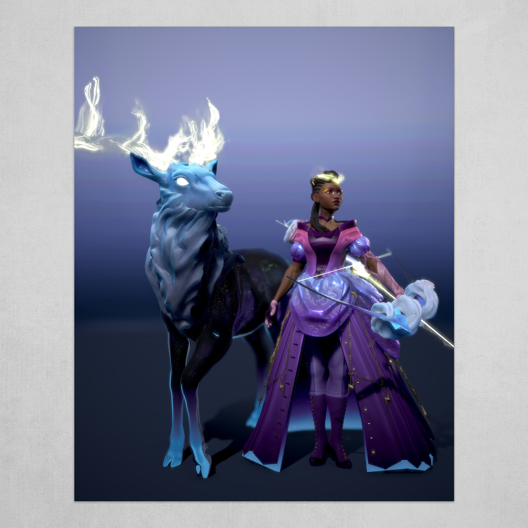 Lightning Crown - Stand