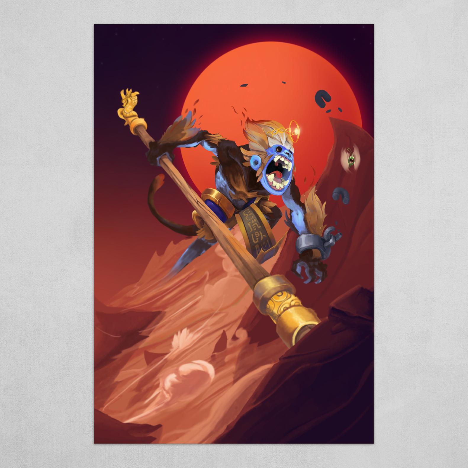 Wukong vs Nezha