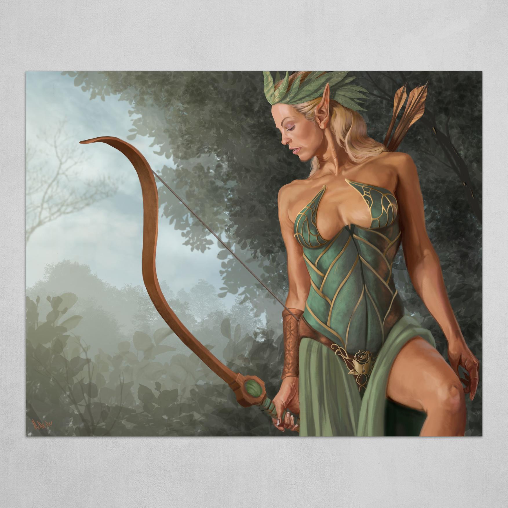 Elf Archer (no border)
