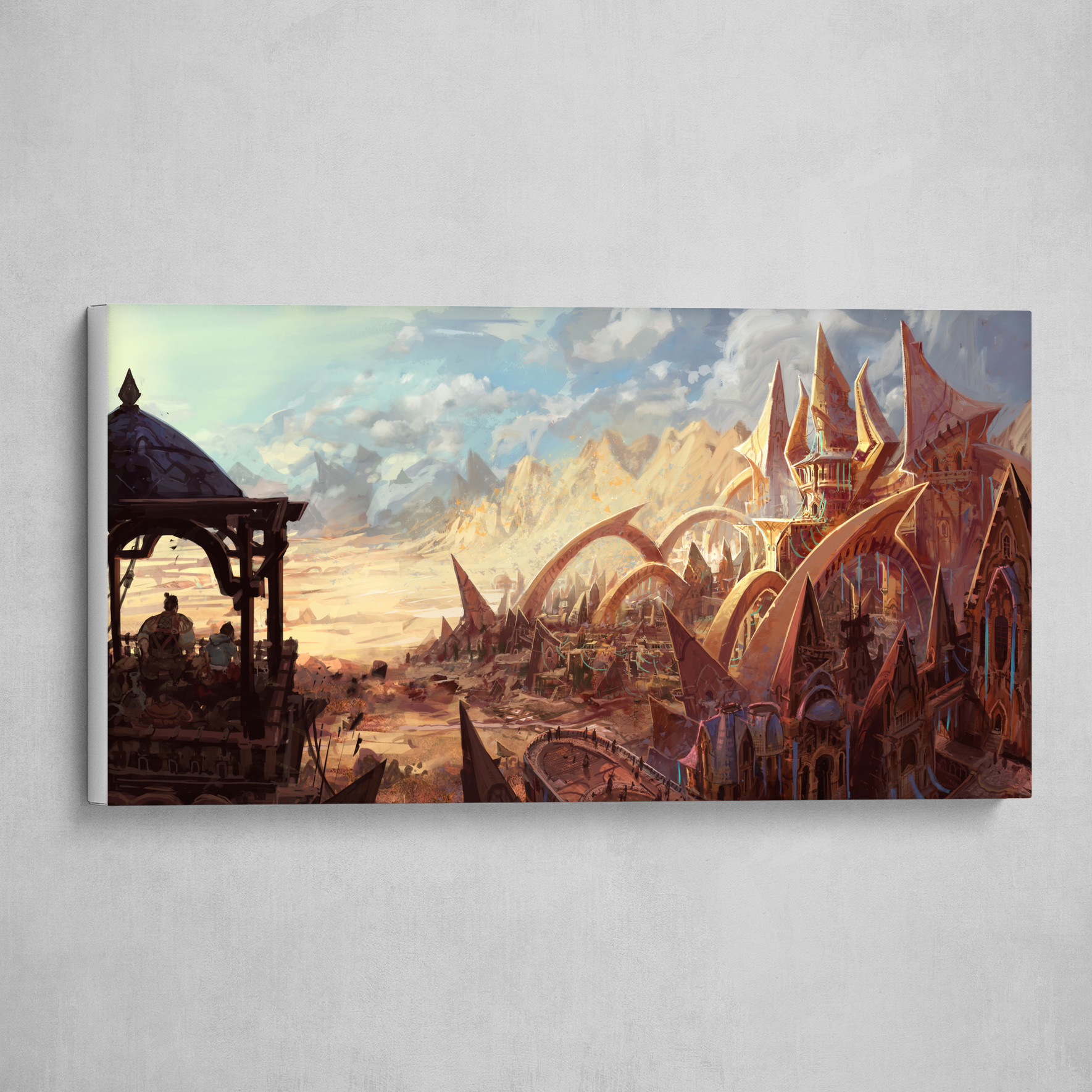 Desert City Sci-Fi