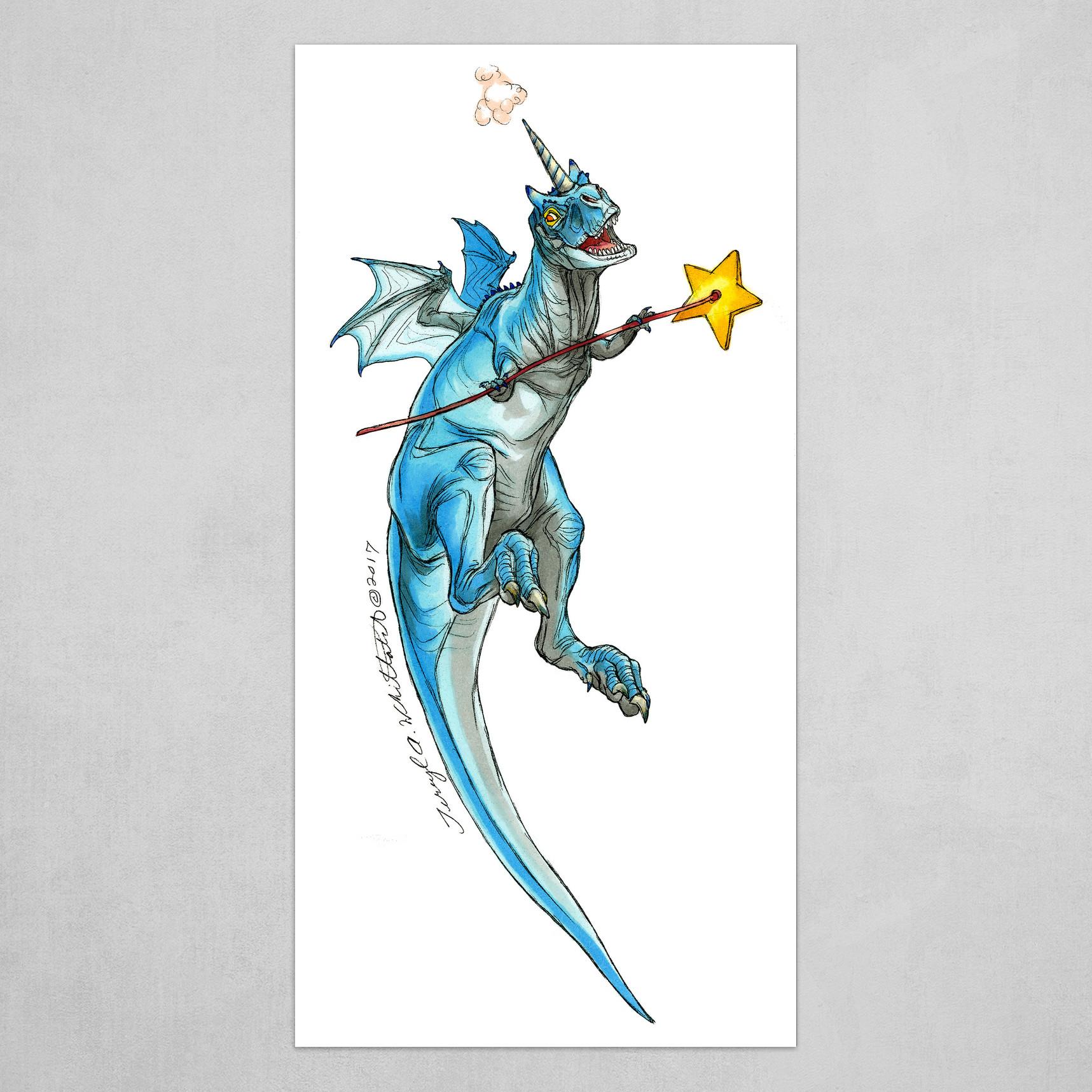 Blue Fairy Saurus