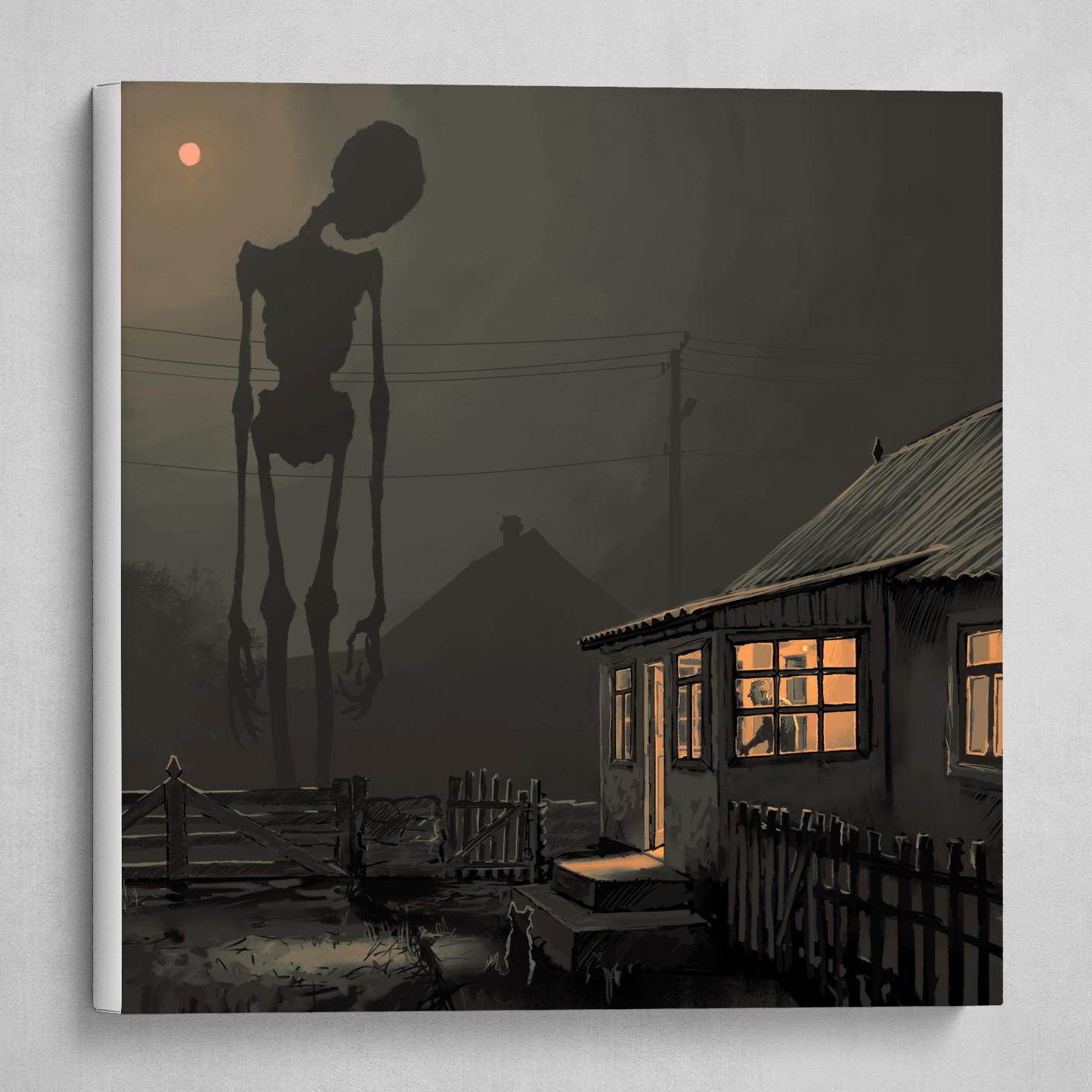Night in a village 2