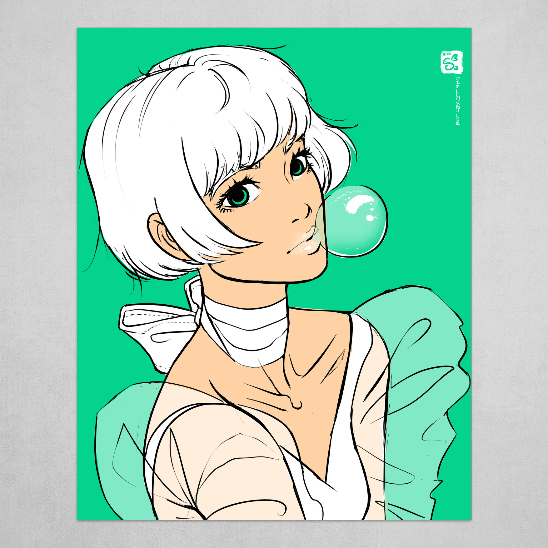 Mint Bubblegum