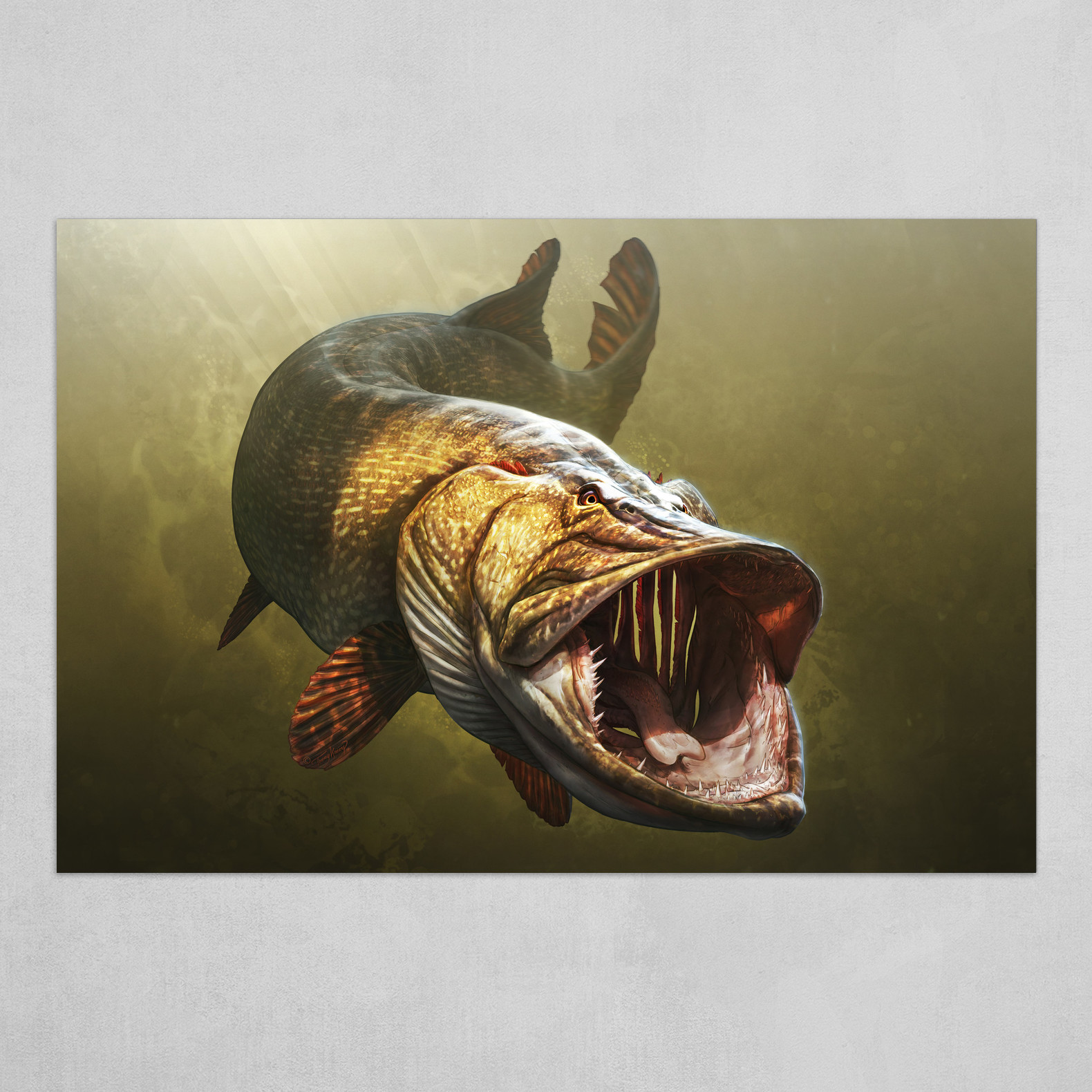 Legendary Giant Pike