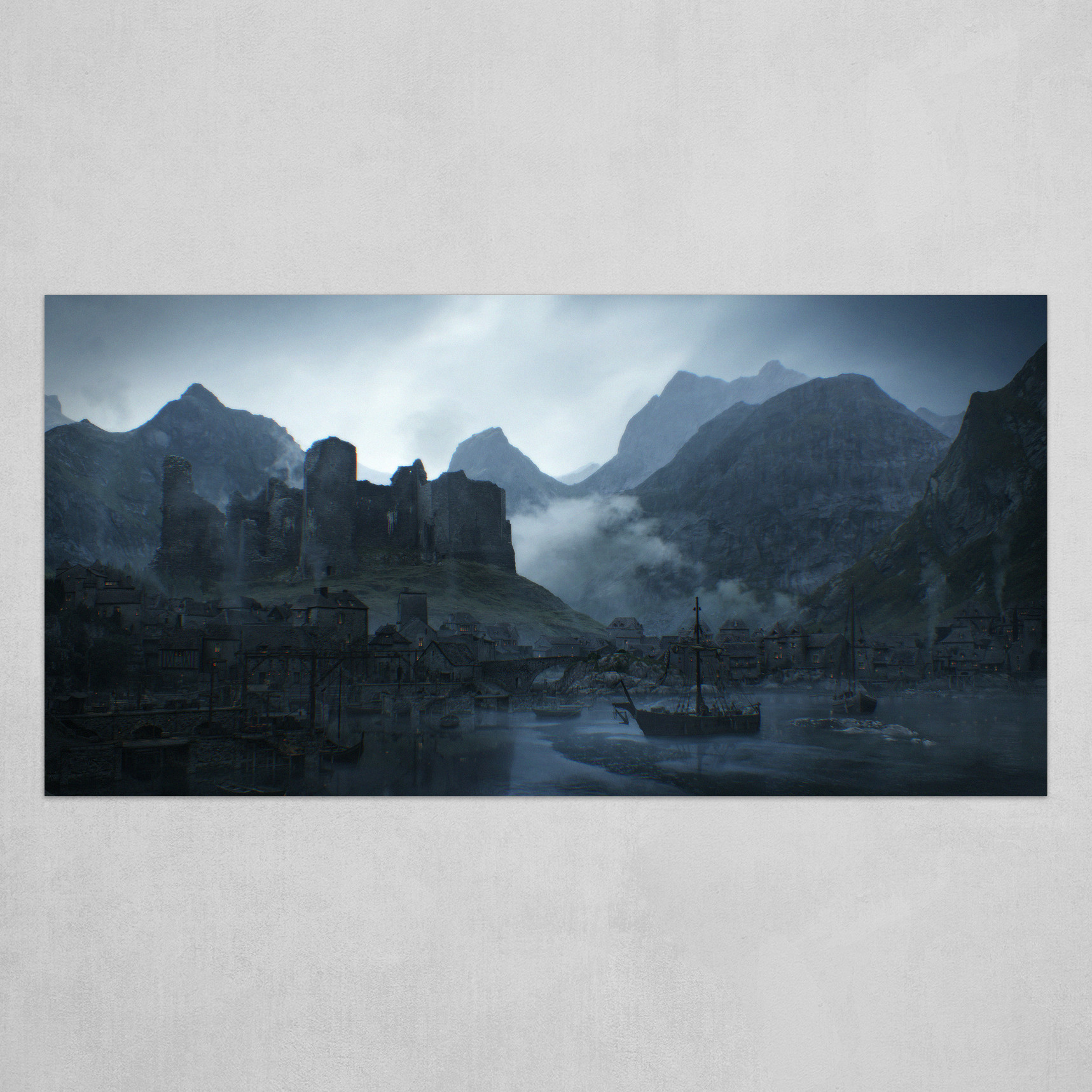 Port of Ibben: Widescreen Format