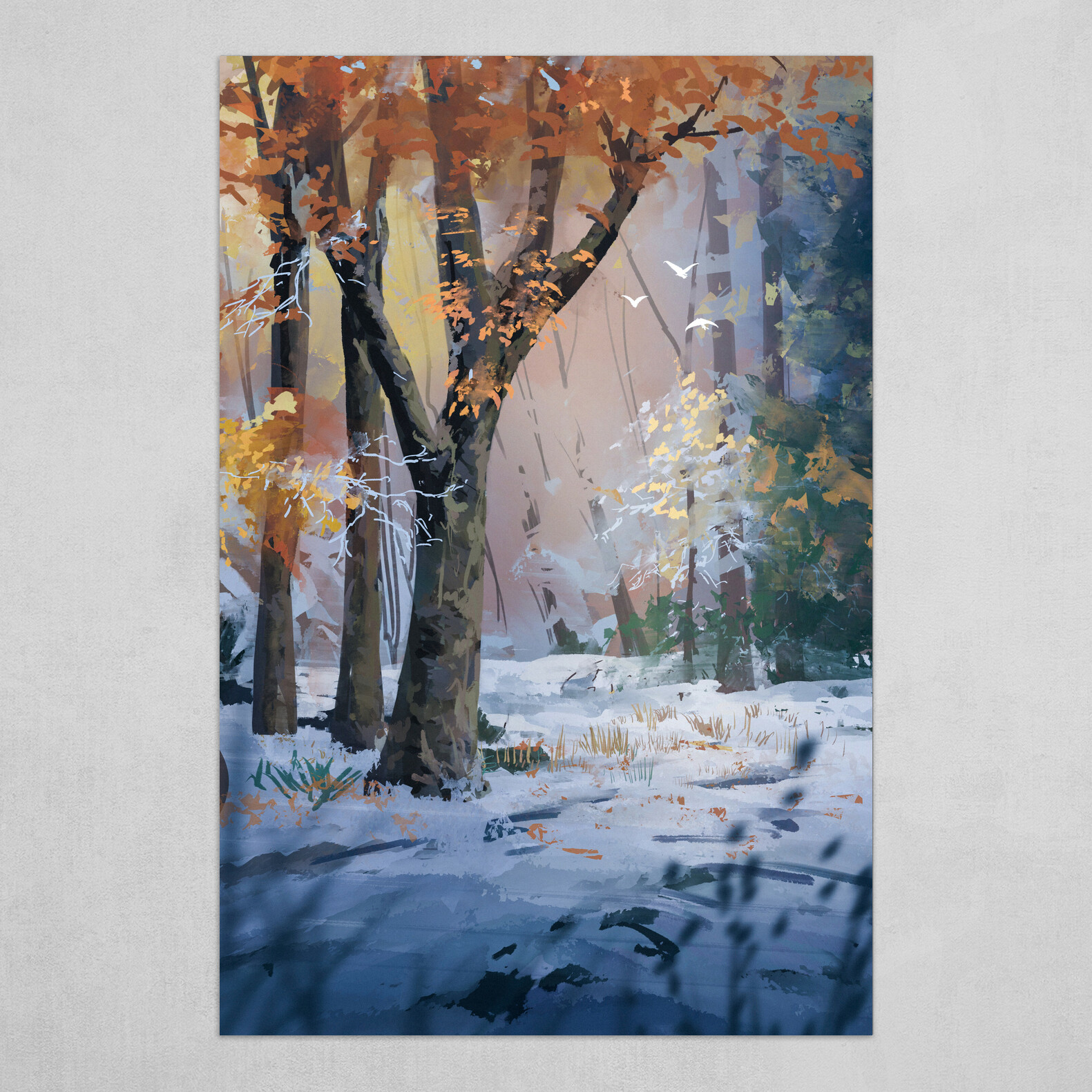 Snow and Fall