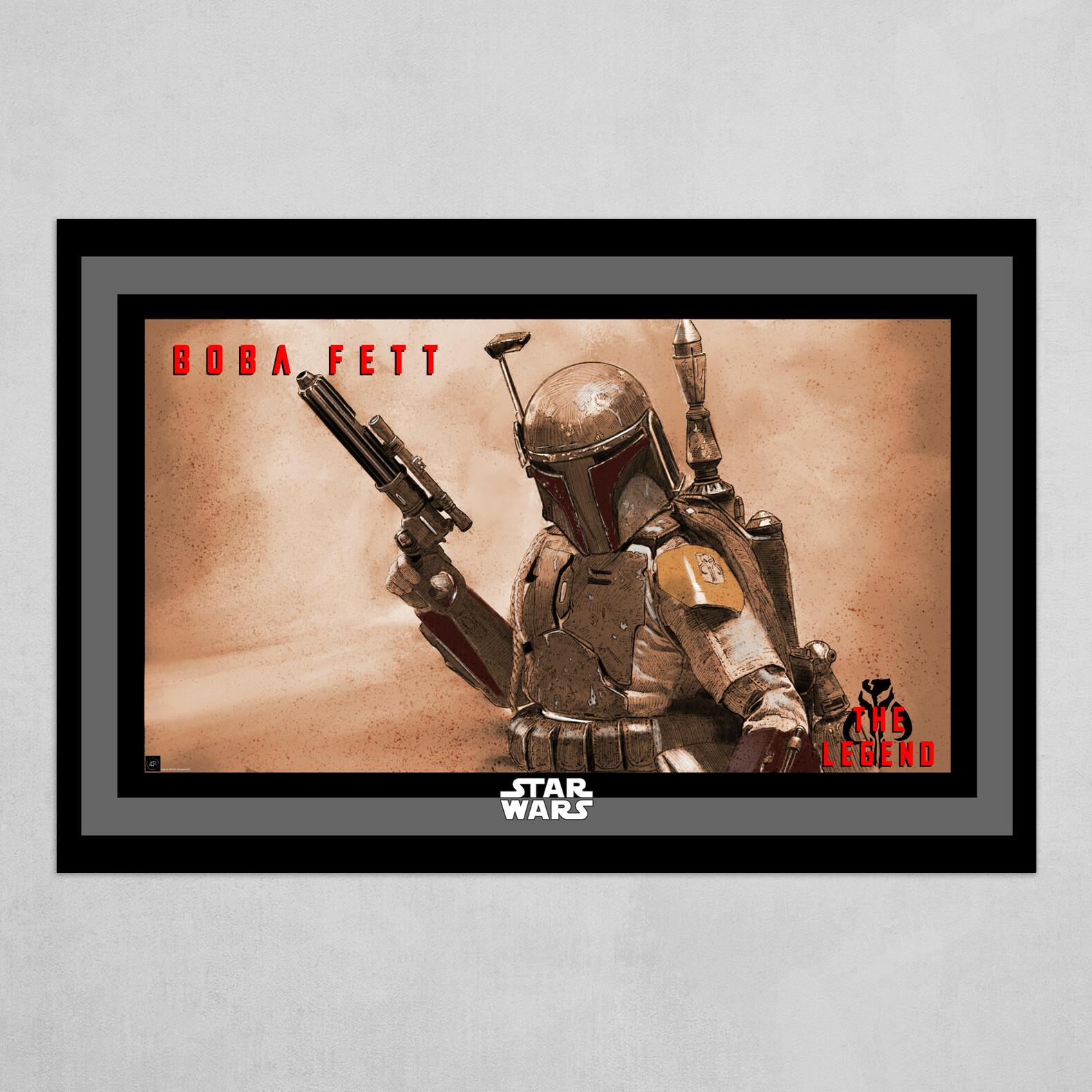 Boba Fett - The Legend Poster