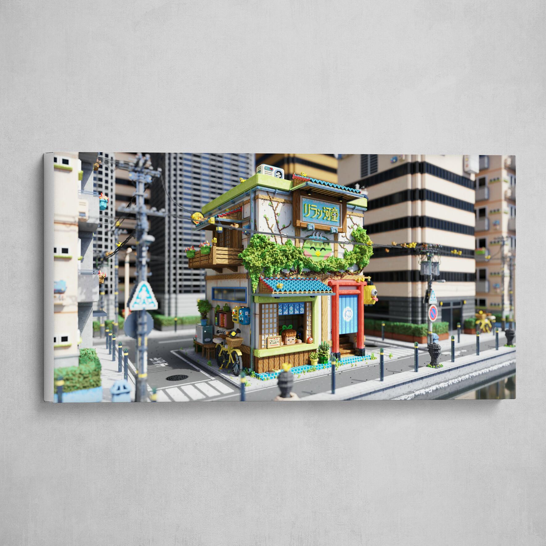 Voxel - Onsen Street - Day 02