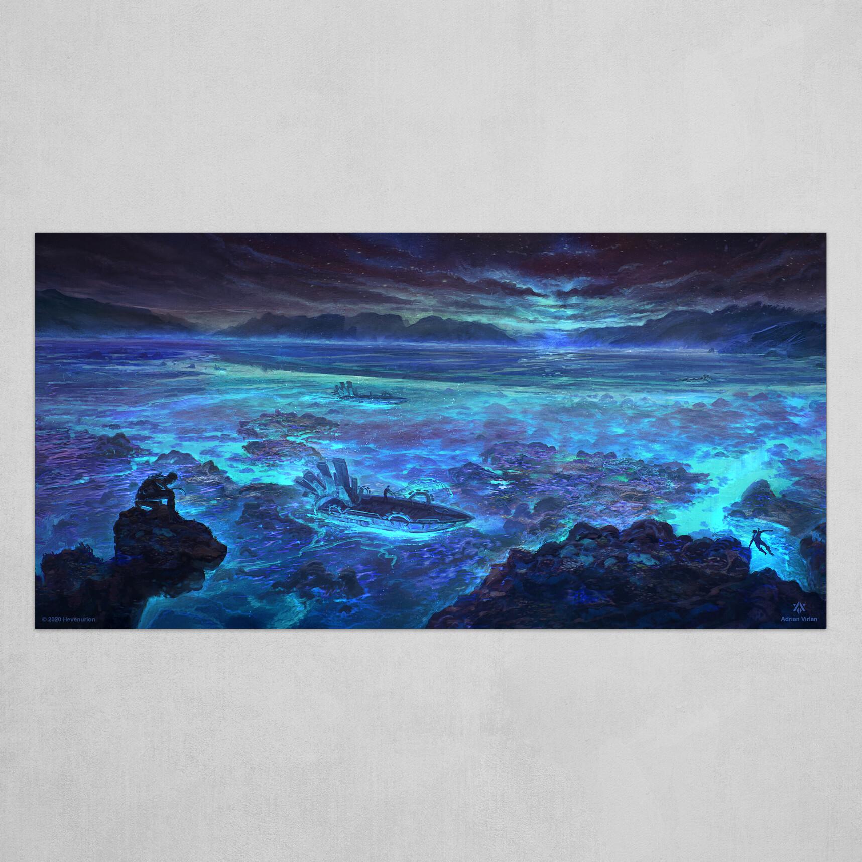 Spectral Reef - Hevenurion