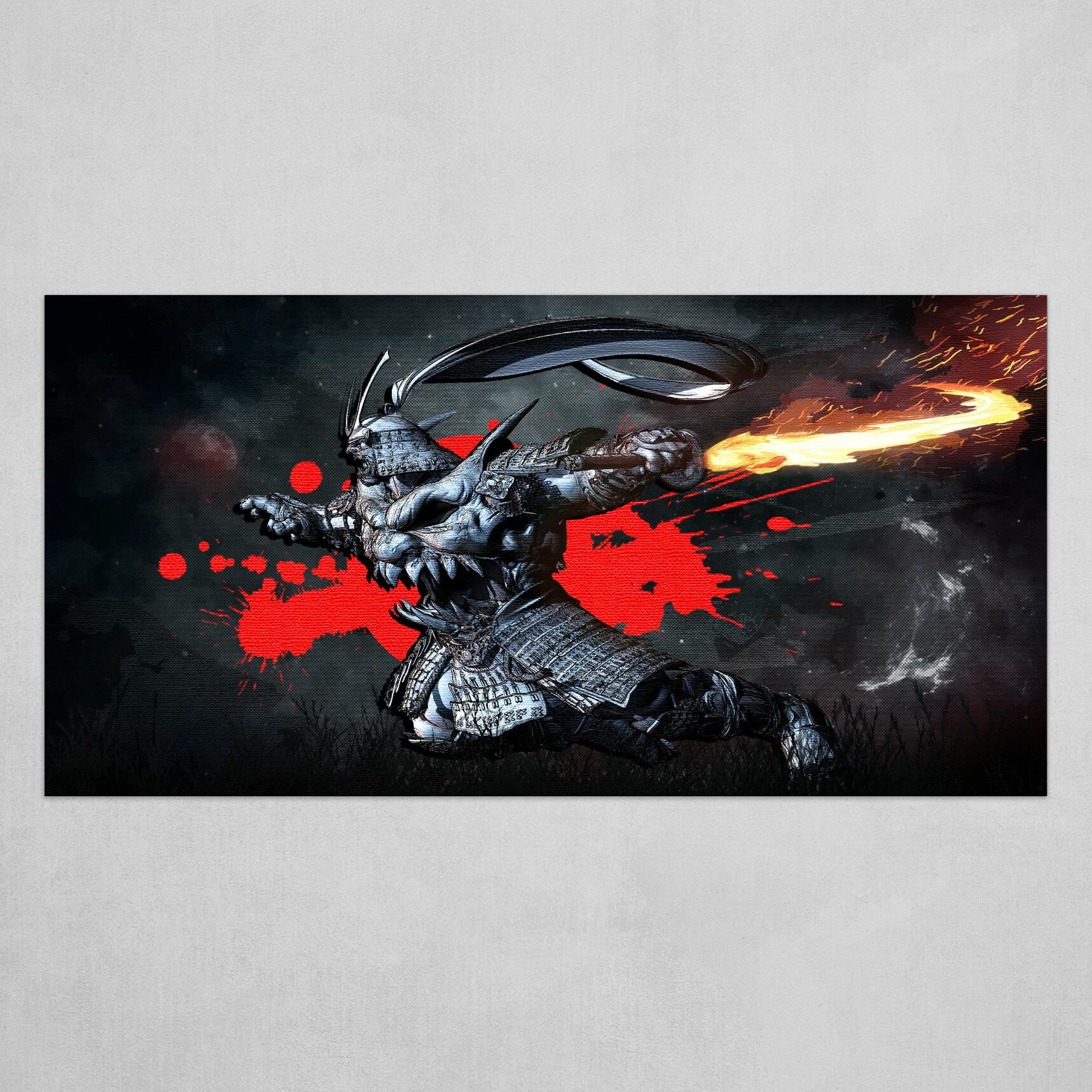 Bishamon : Darkstalkers