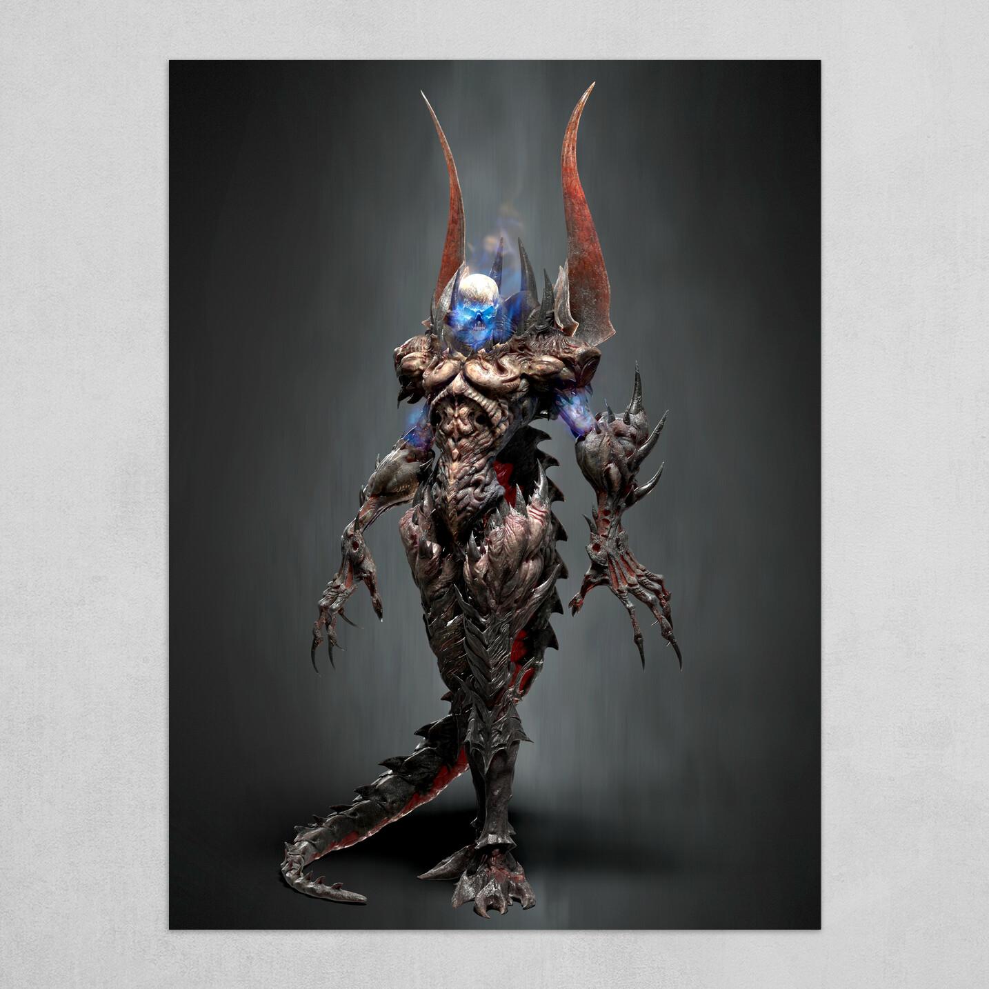 Pathfinder Demon