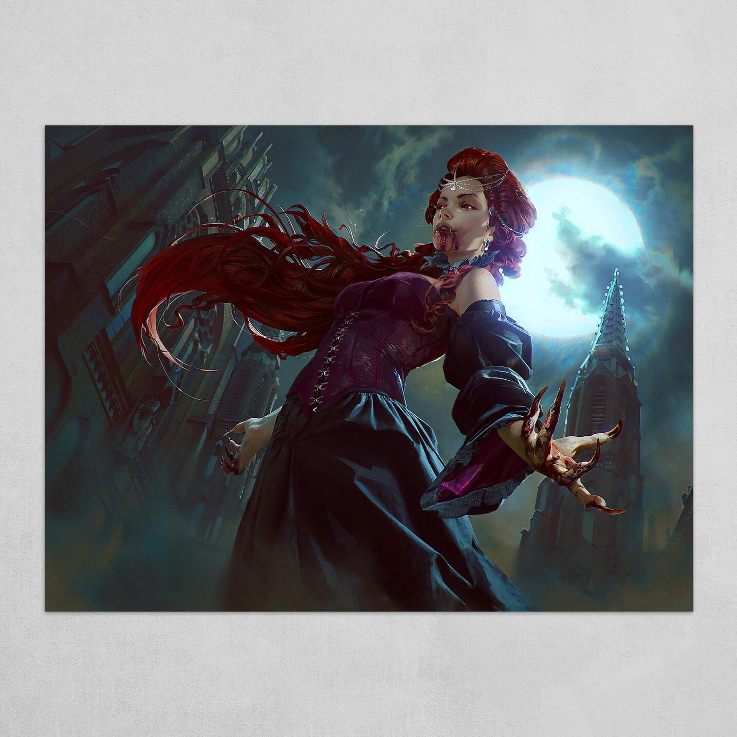 Vampire of the Dire Moon