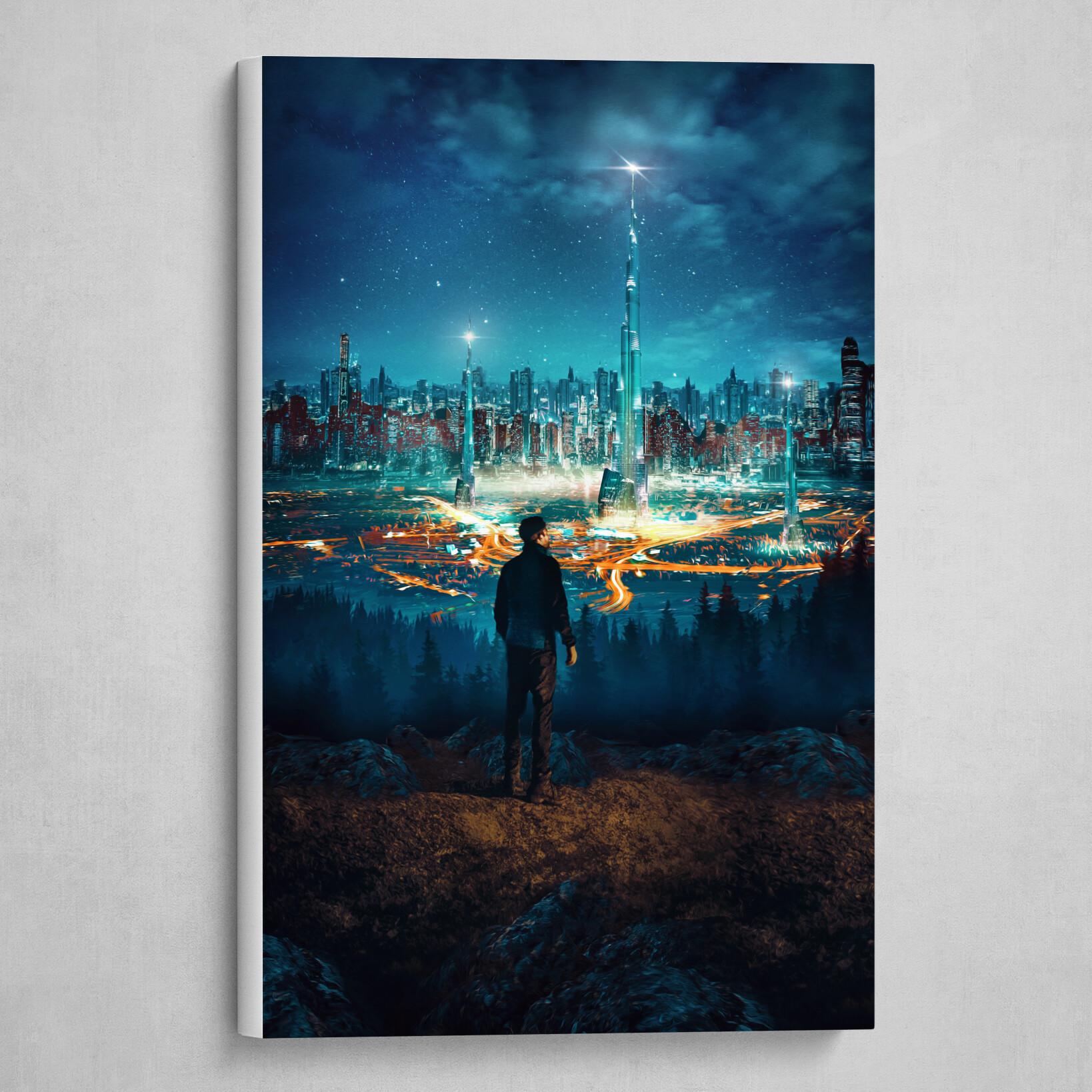 Sci-Fi City Overlook