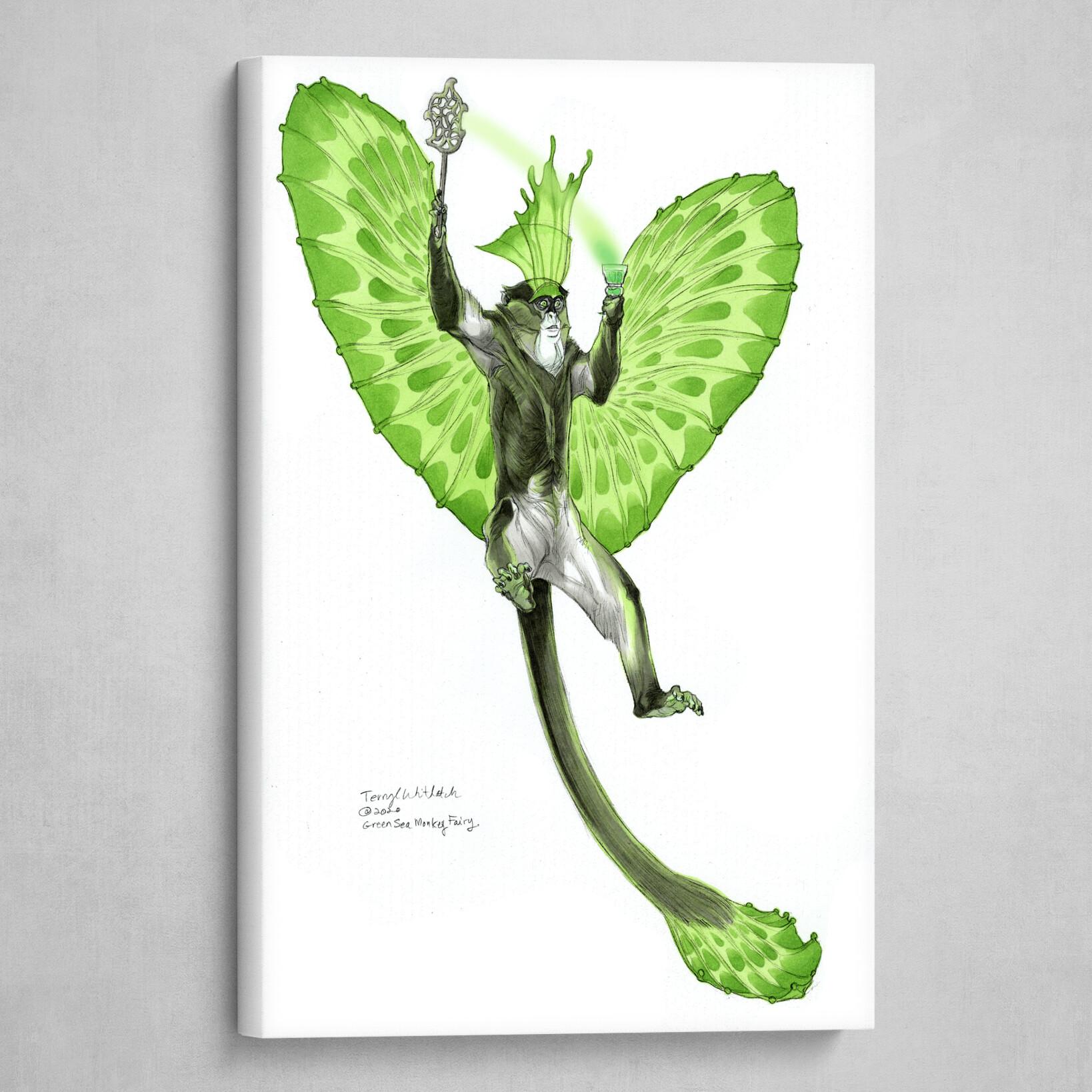 Green Sea Monkey Fairy