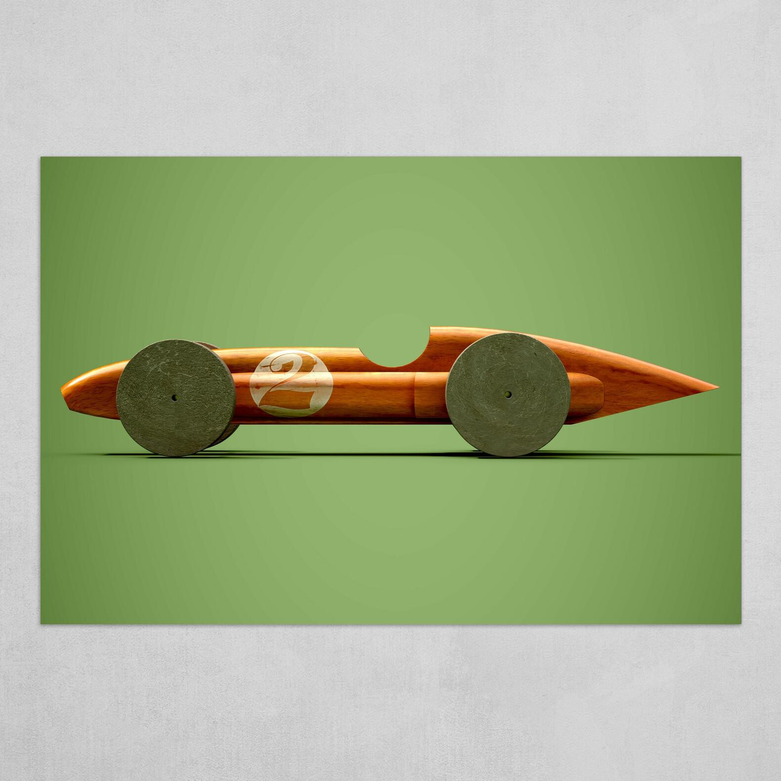 Wood Car 2