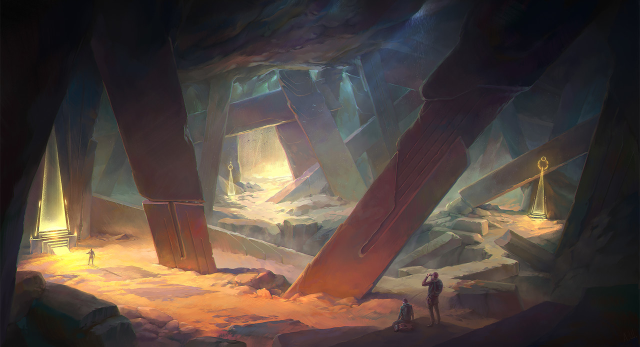 Honourable Mention, Ancient Civilizations: Lost & Found: Environment Design