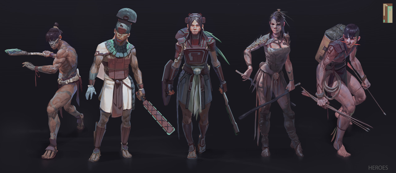 Honourable Mention, Ancient Civilizations: Lost & Found: Character Design