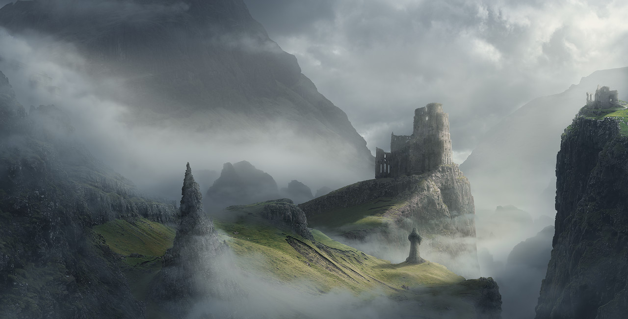 Honourable Mention, Ancient Civilizations: Lost & Found: Film/VFX Matte Painting