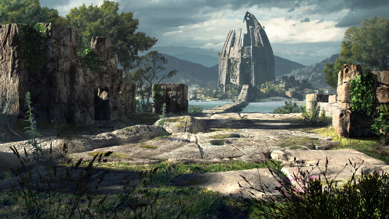 2nd Place, Ancient Civilizations: Lost & Found: Film/VFX Matte Painting